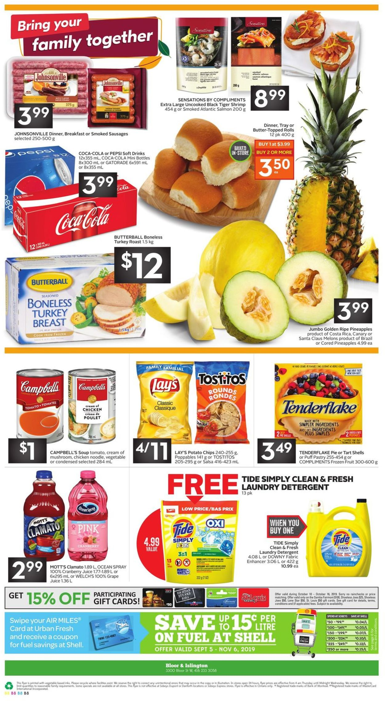 Sobeys Flyer - 10/10-10/16/2019 (Page 13)