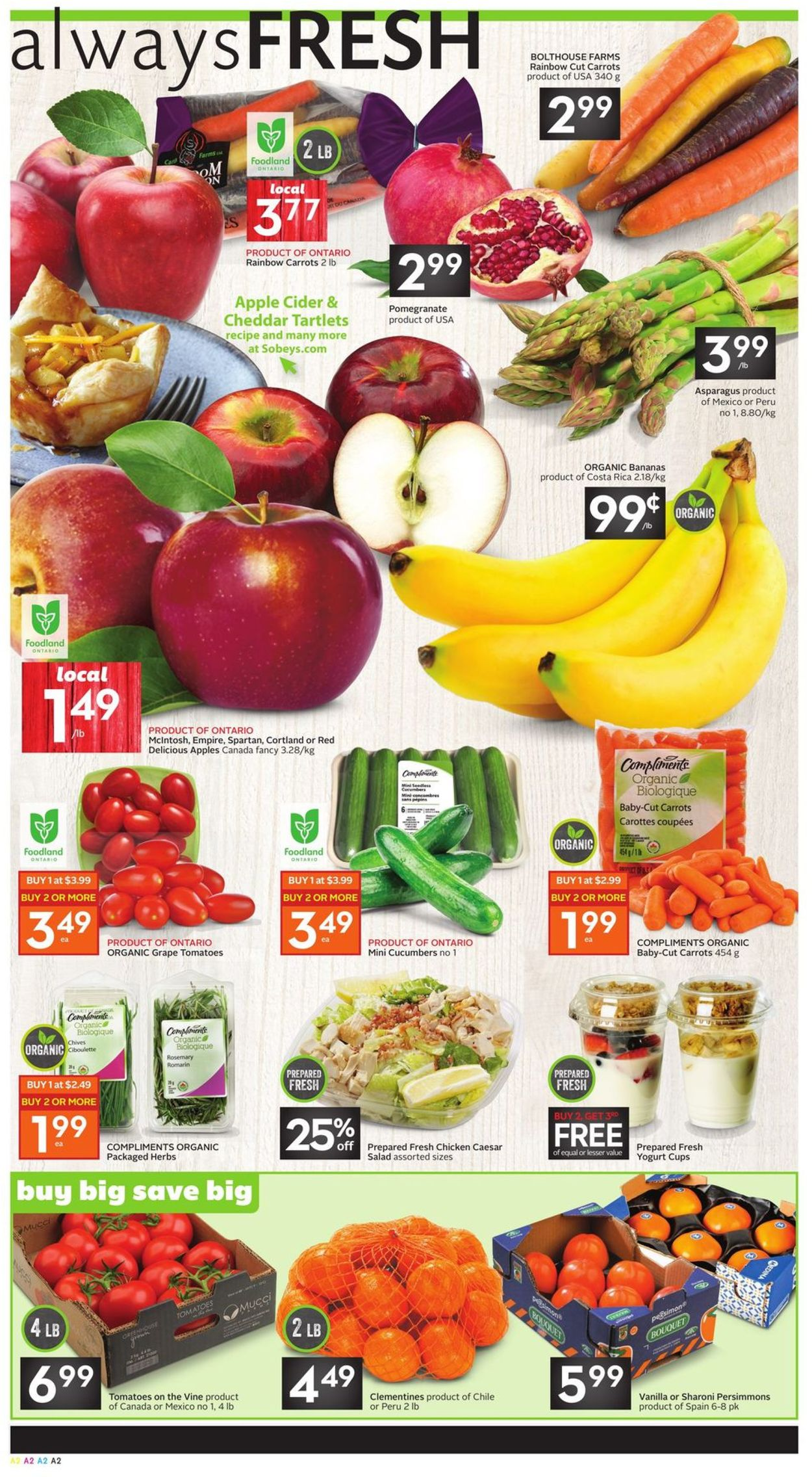 Sobeys Flyer - 11/07-11/13/2019 (Page 2)