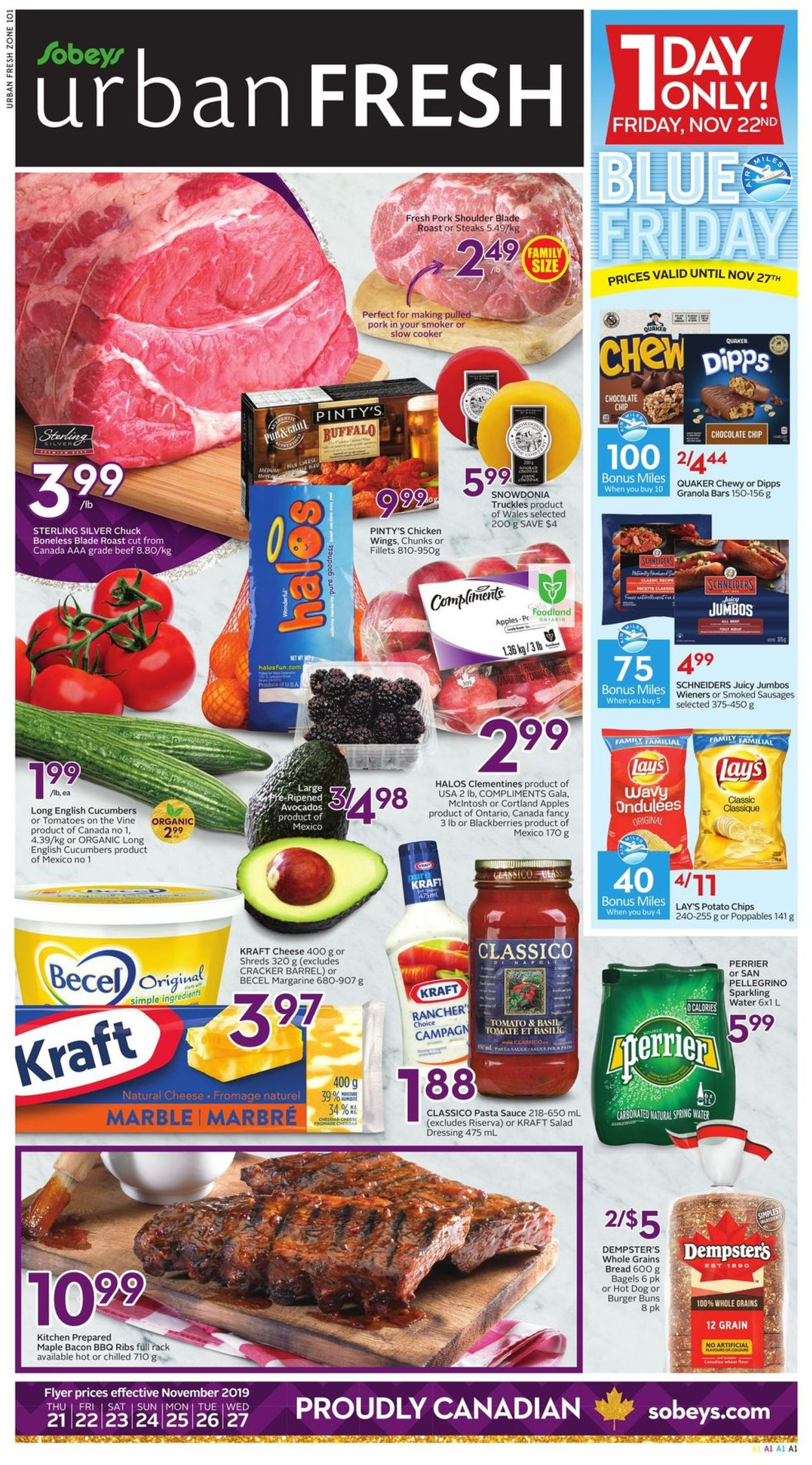 Sobeys Flyer - 11/21-11/27/2019