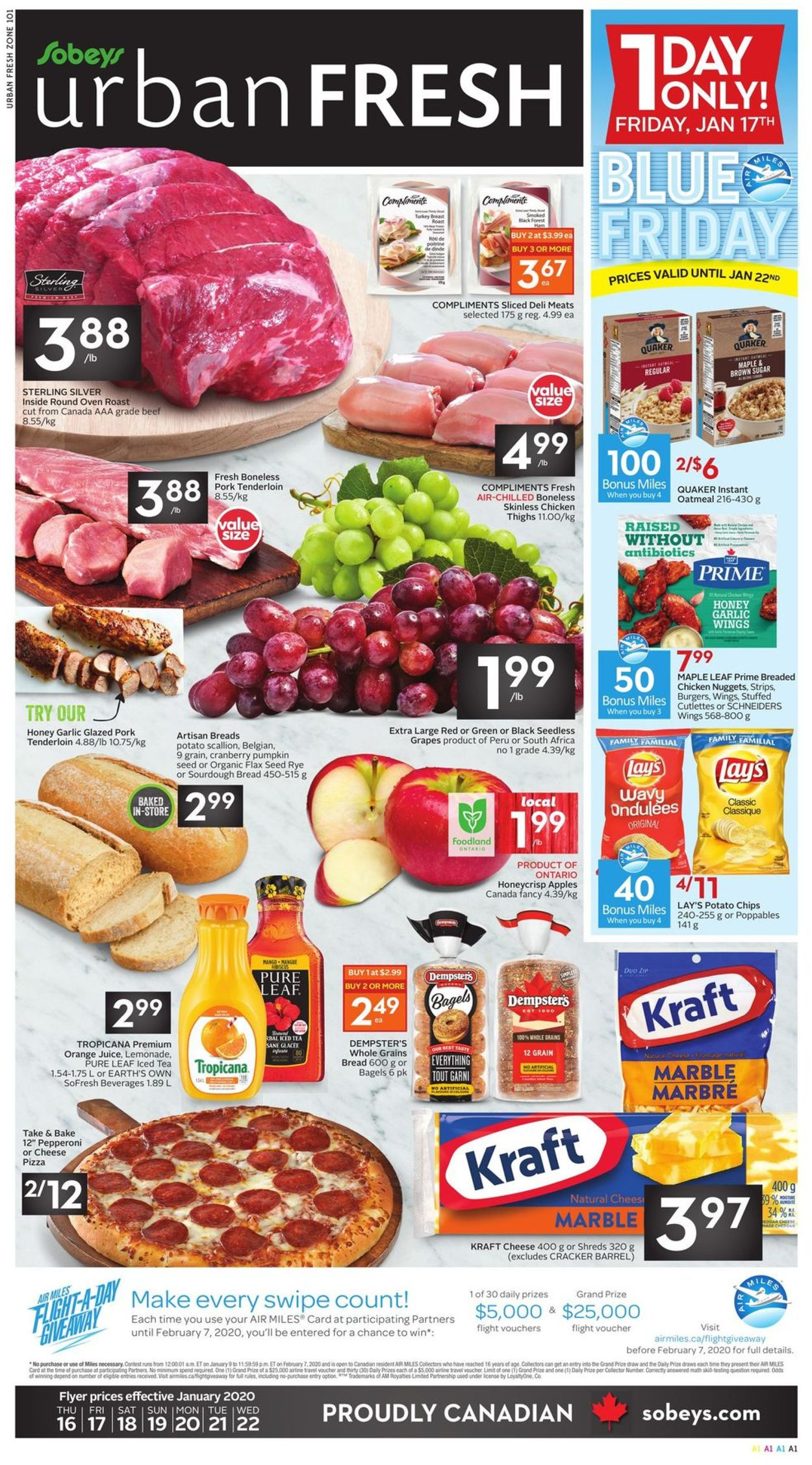 Sobeys Flyer - 01/16-01/22/2020