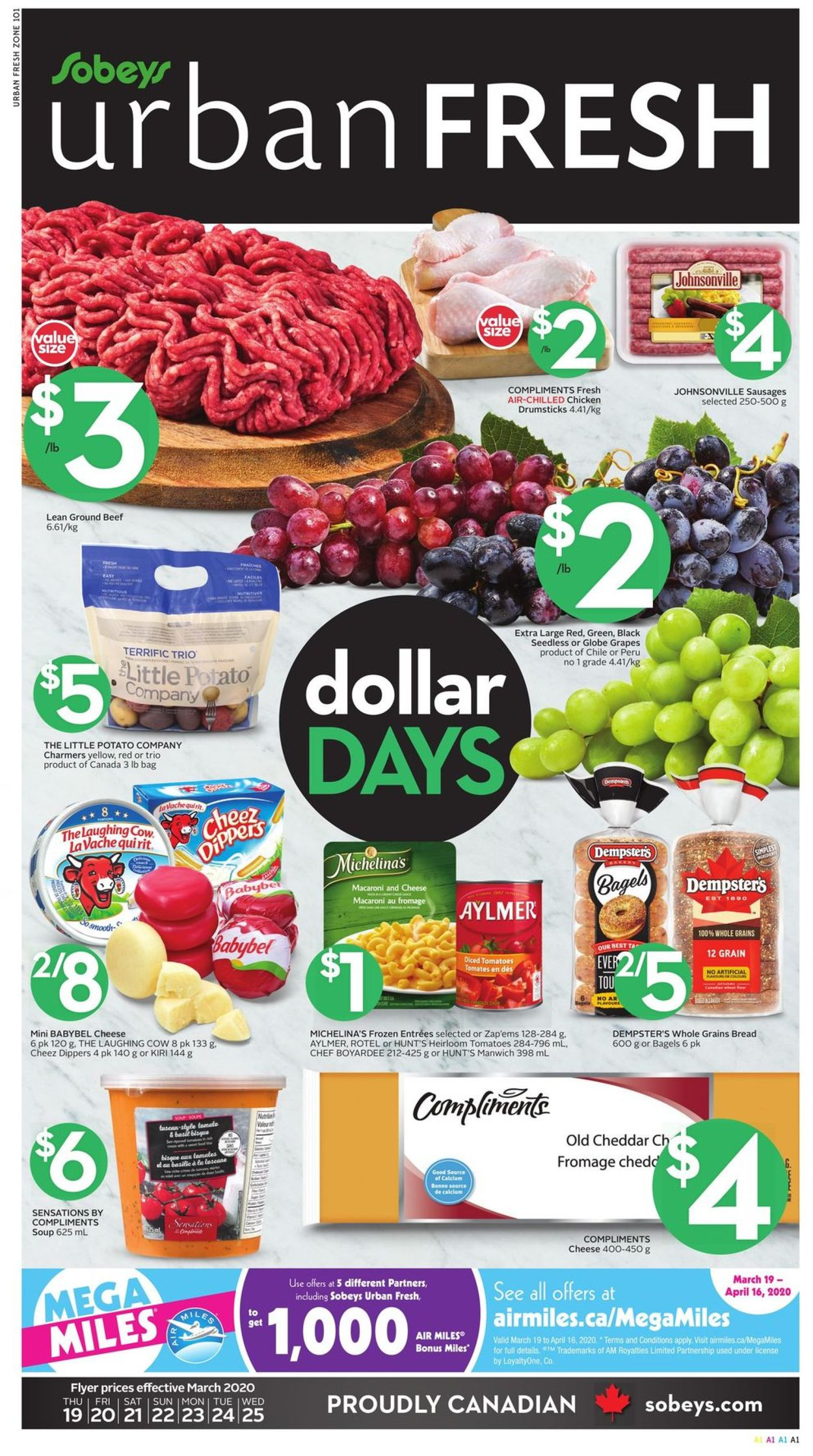 Sobeys Flyer - 03/19-03/25/2020