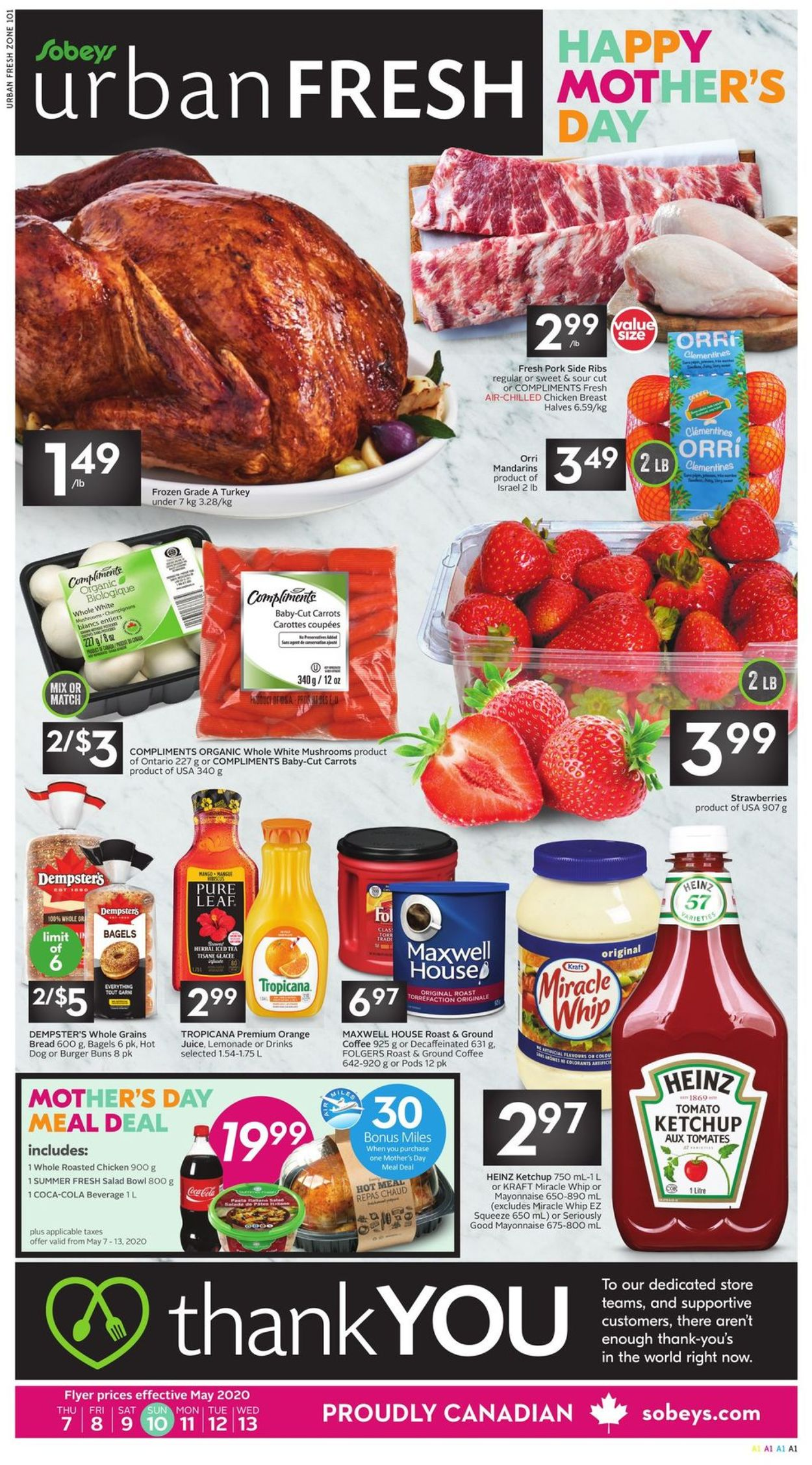 Sobeys Flyer - 05/07-05/13/2020