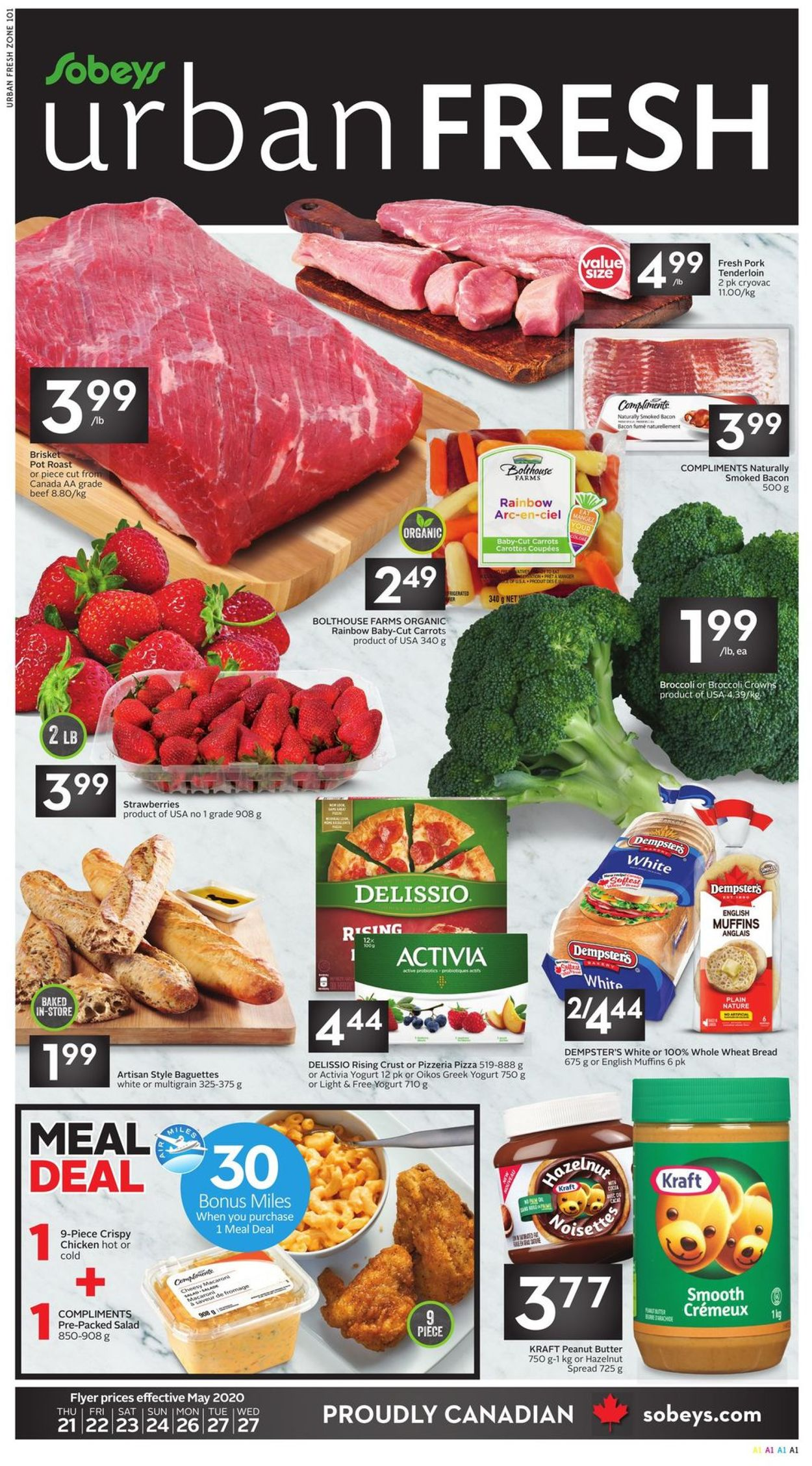 Sobeys Flyer - 05/21-05/27/2020