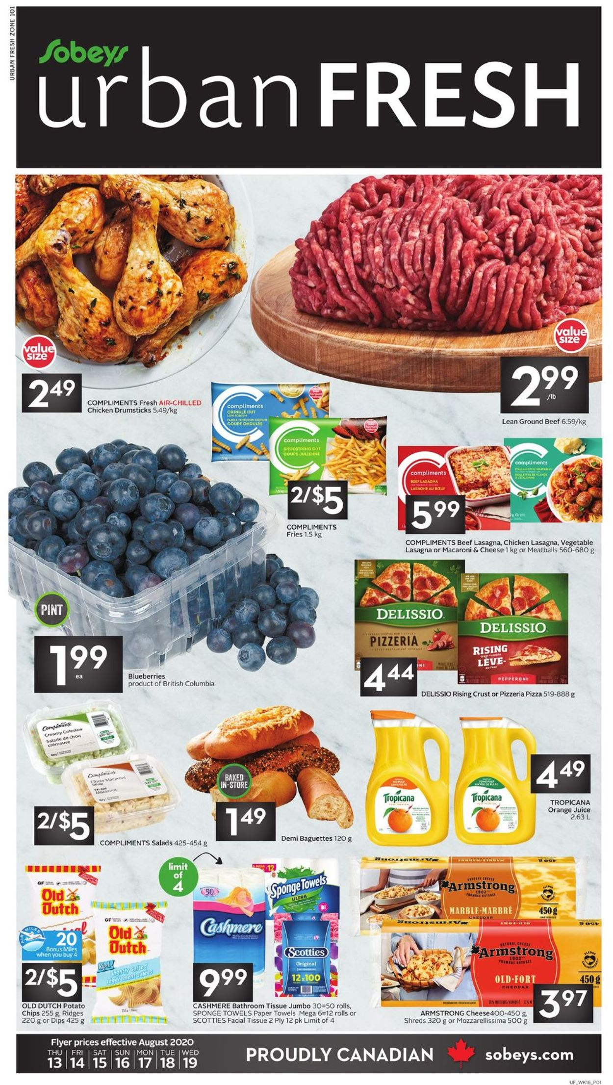 Sobeys Flyer - 08/13-08/19/2020