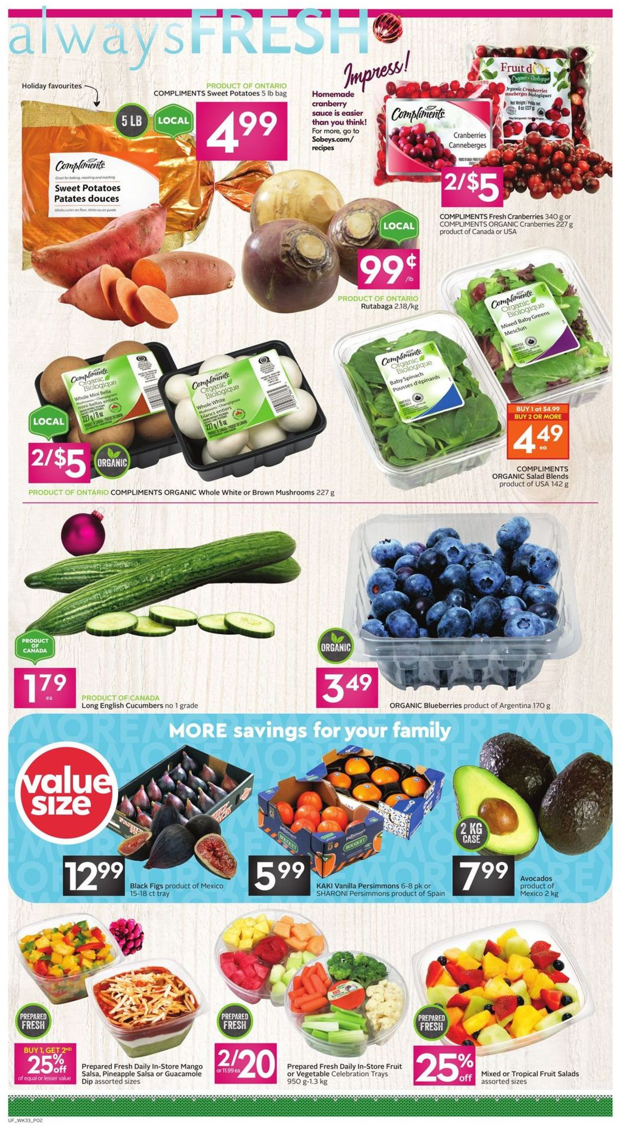 Sobeys - Holiday 2020 Flyer - 12/10-12/16/2020 (Page 2)