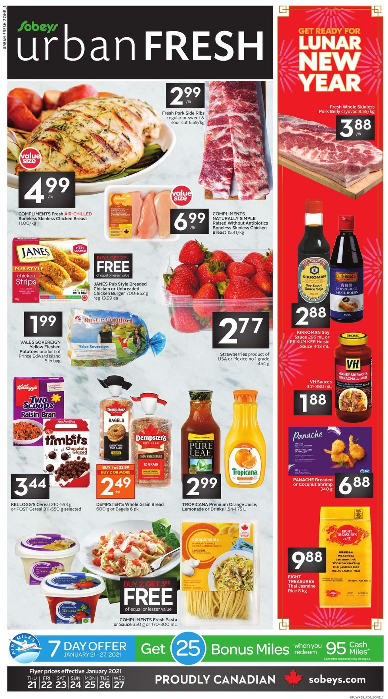 Sobeys Flyer - 01/21-01/27/2021