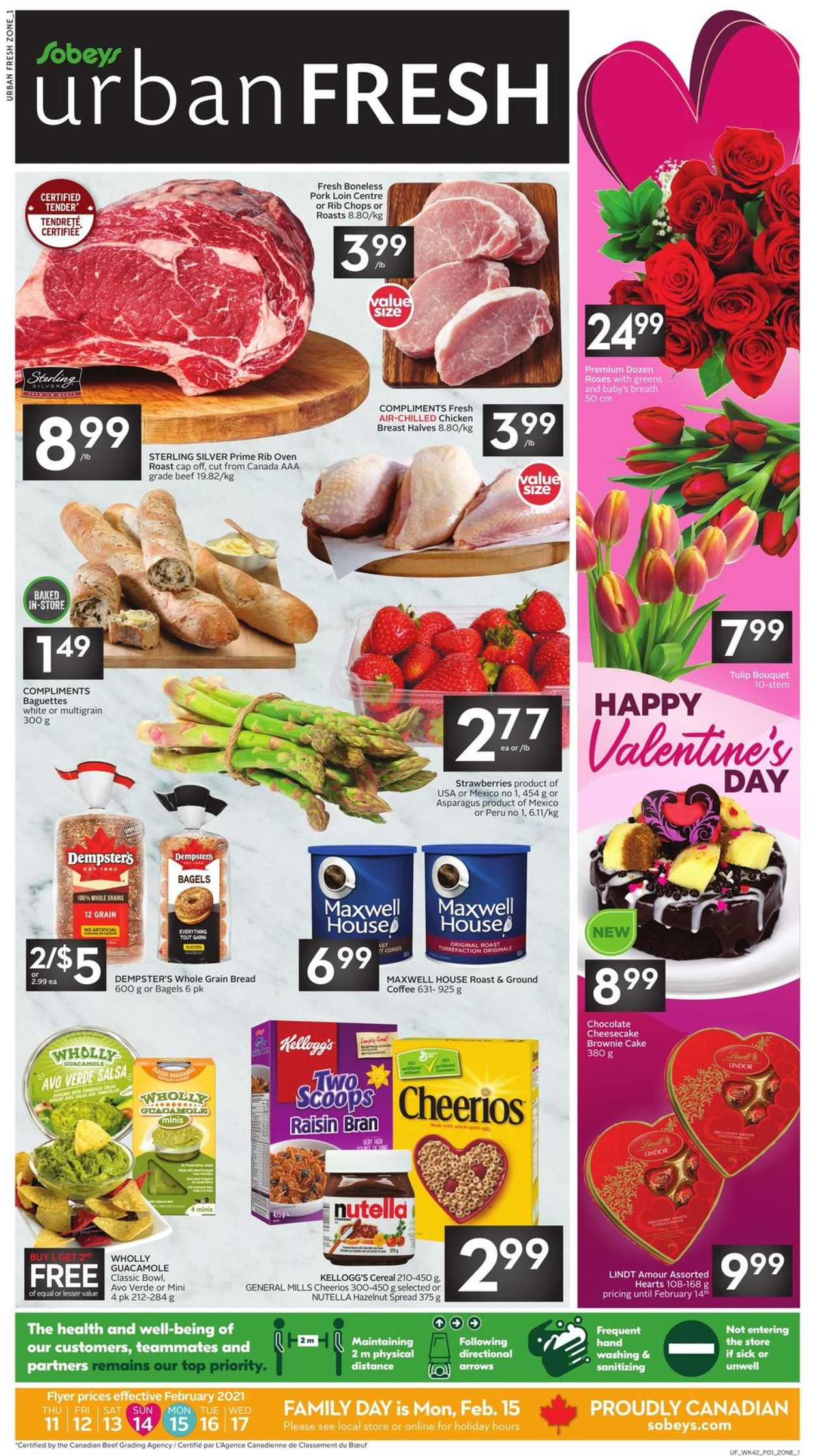Sobeys Flyer - 02/11-02/17/2021