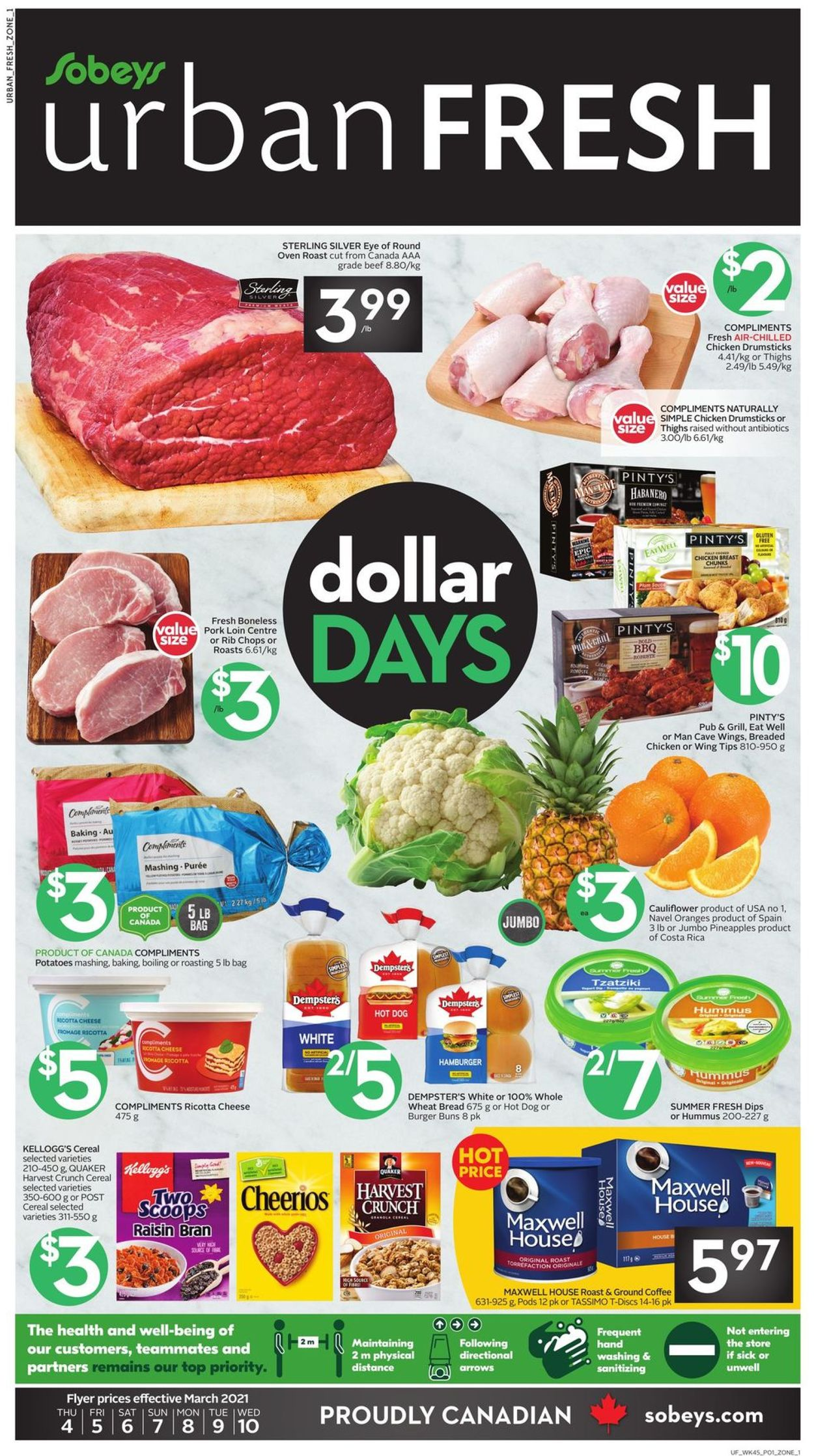Sobeys Flyer - 03/04-03/10/2021