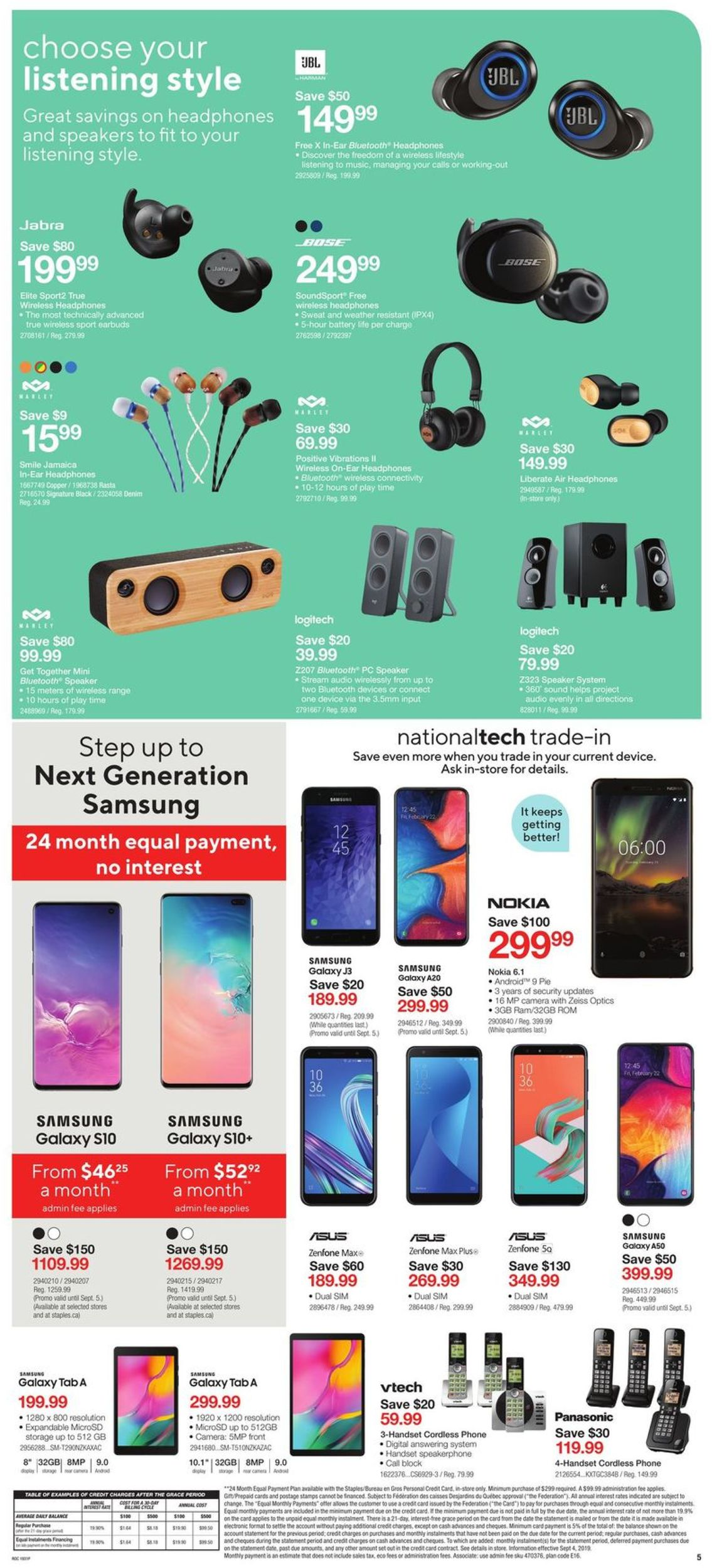 Staples Flyer - 09/04-09/10/2019 (Page 5)