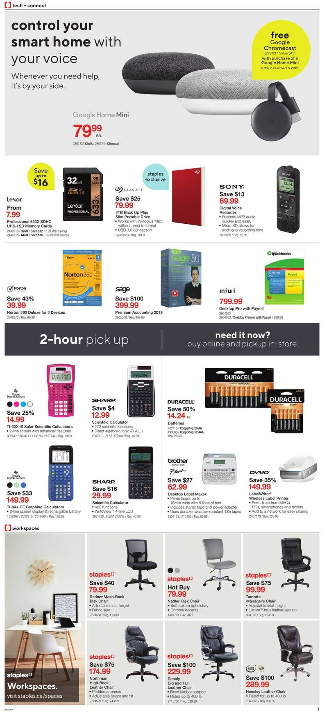 Staples Flyer - 09/04-09/10/2019 (Page 7)