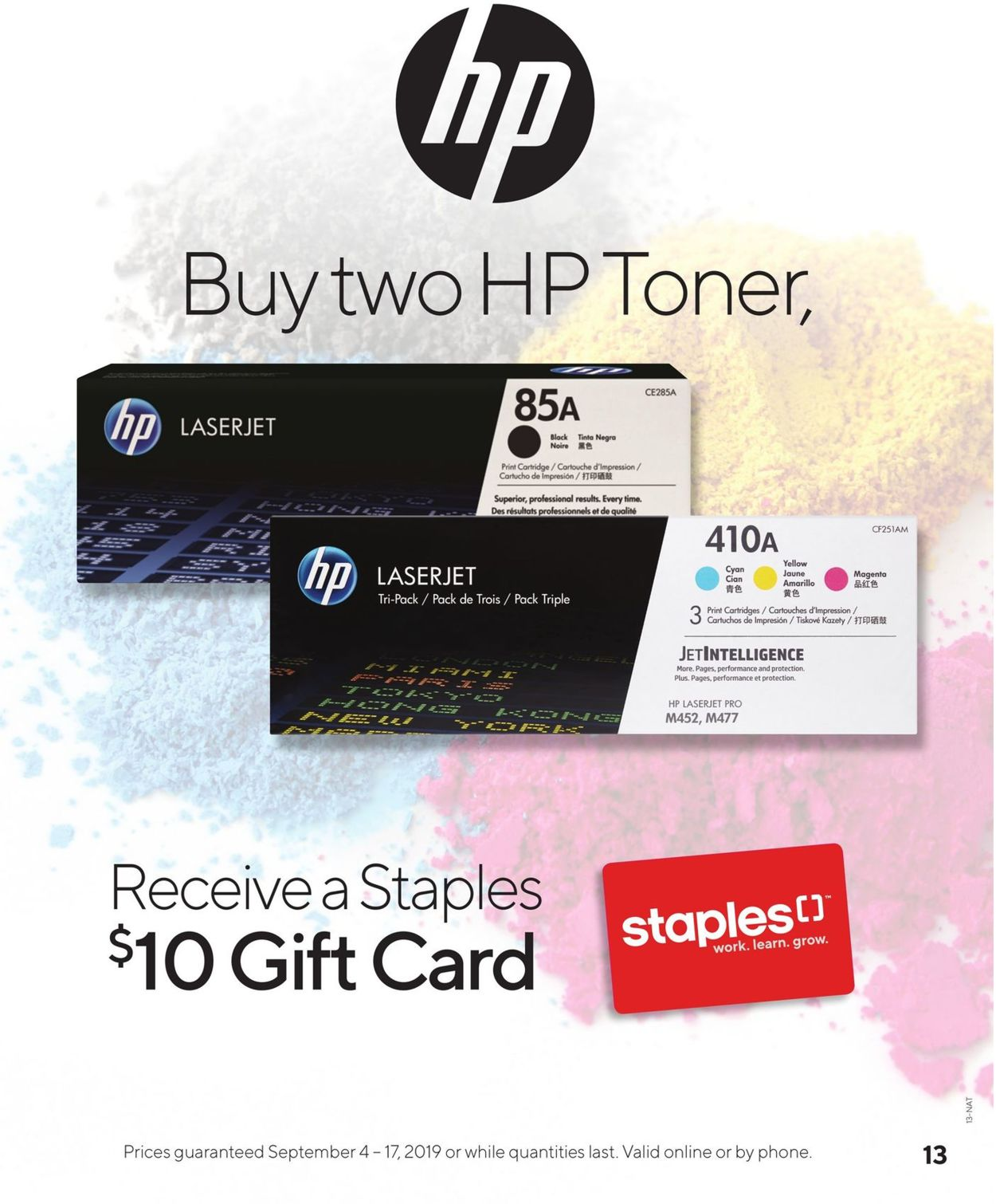 Staples Flyer - 09/04-09/17/2019 (Page 13)