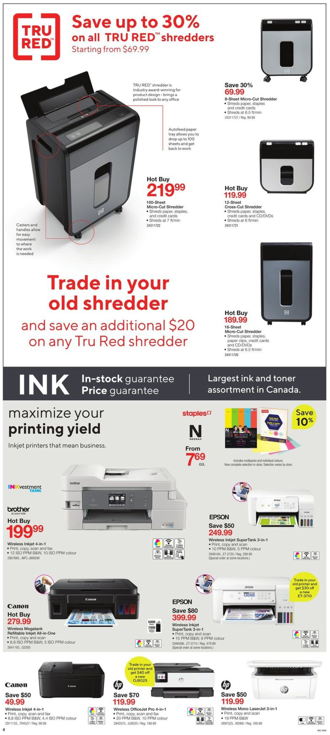 Staples Flyer - 09/18-09/24/2019 (Page 4)