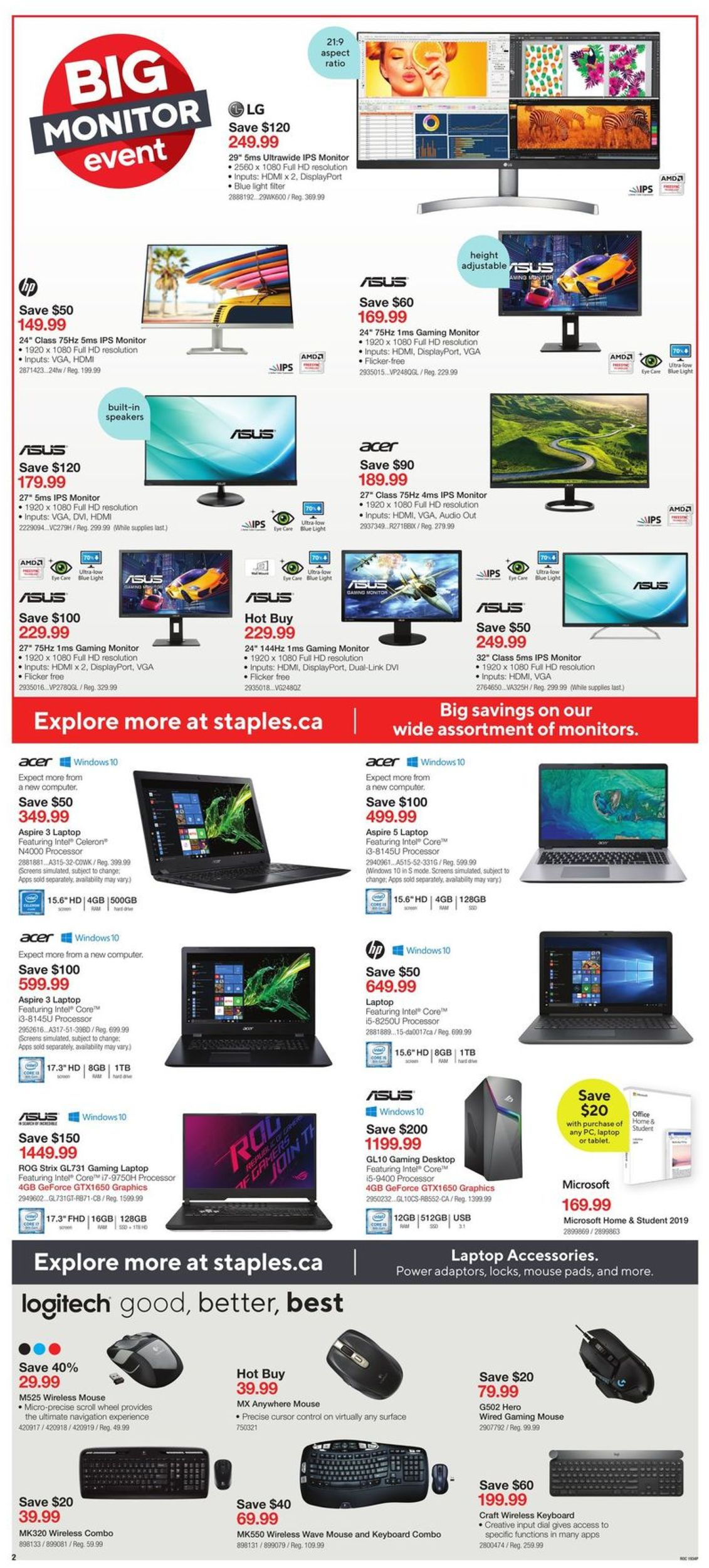 Staples Flyer - 09/25-10/01/2019 (Page 2)