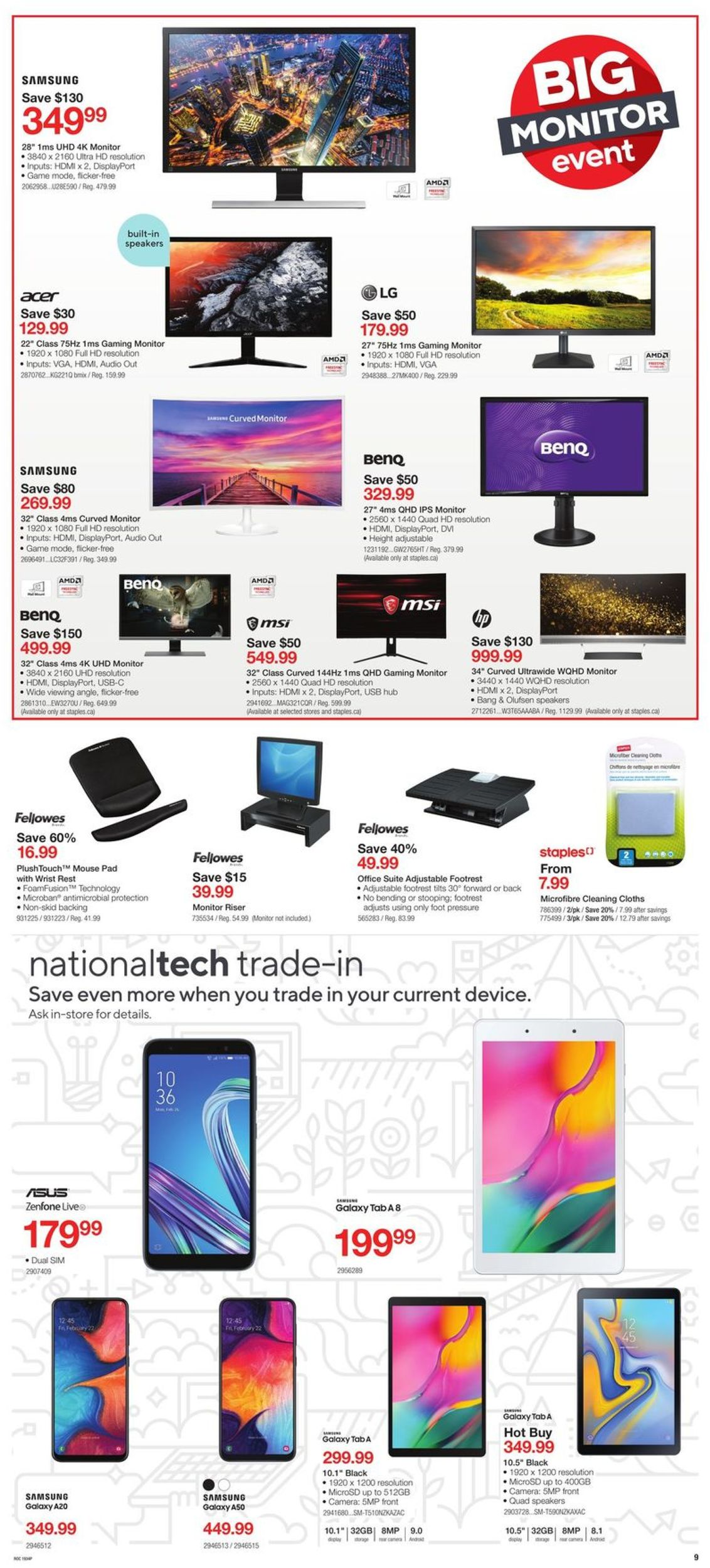 Staples Flyer - 09/25-10/01/2019 (Page 3)
