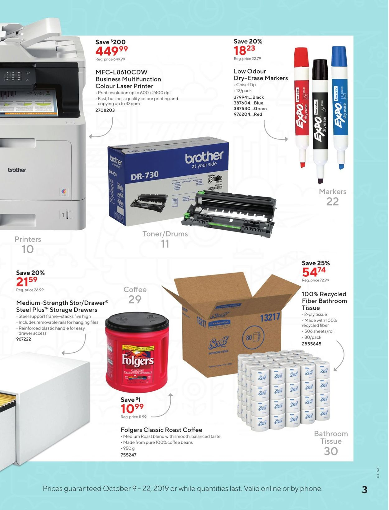 Staples Flyer - 10/09-10/22/2019 (Page 3)