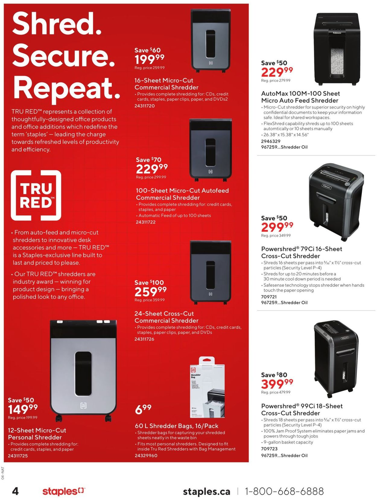 Staples Flyer - 10/09-10/22/2019 (Page 4)