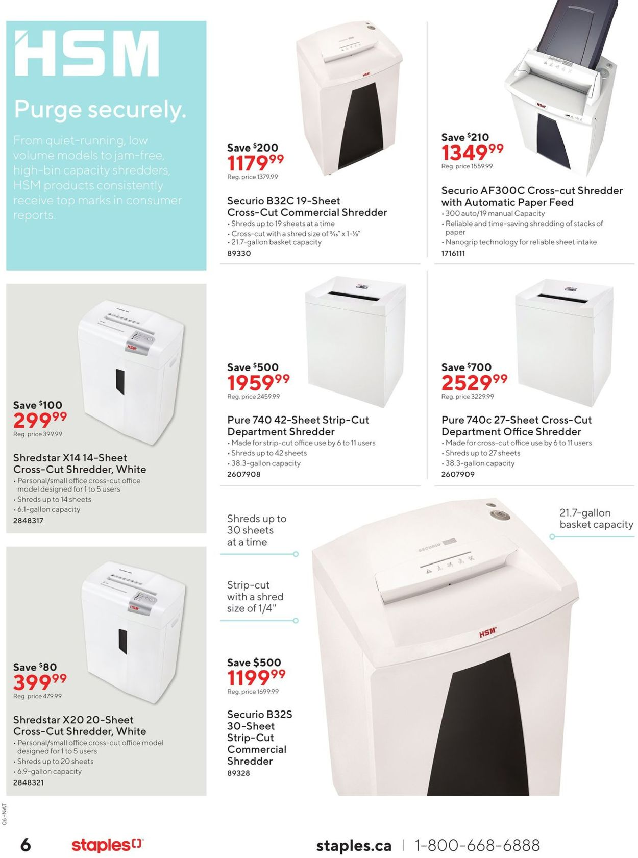 Staples Flyer - 10/09-10/22/2019 (Page 6)