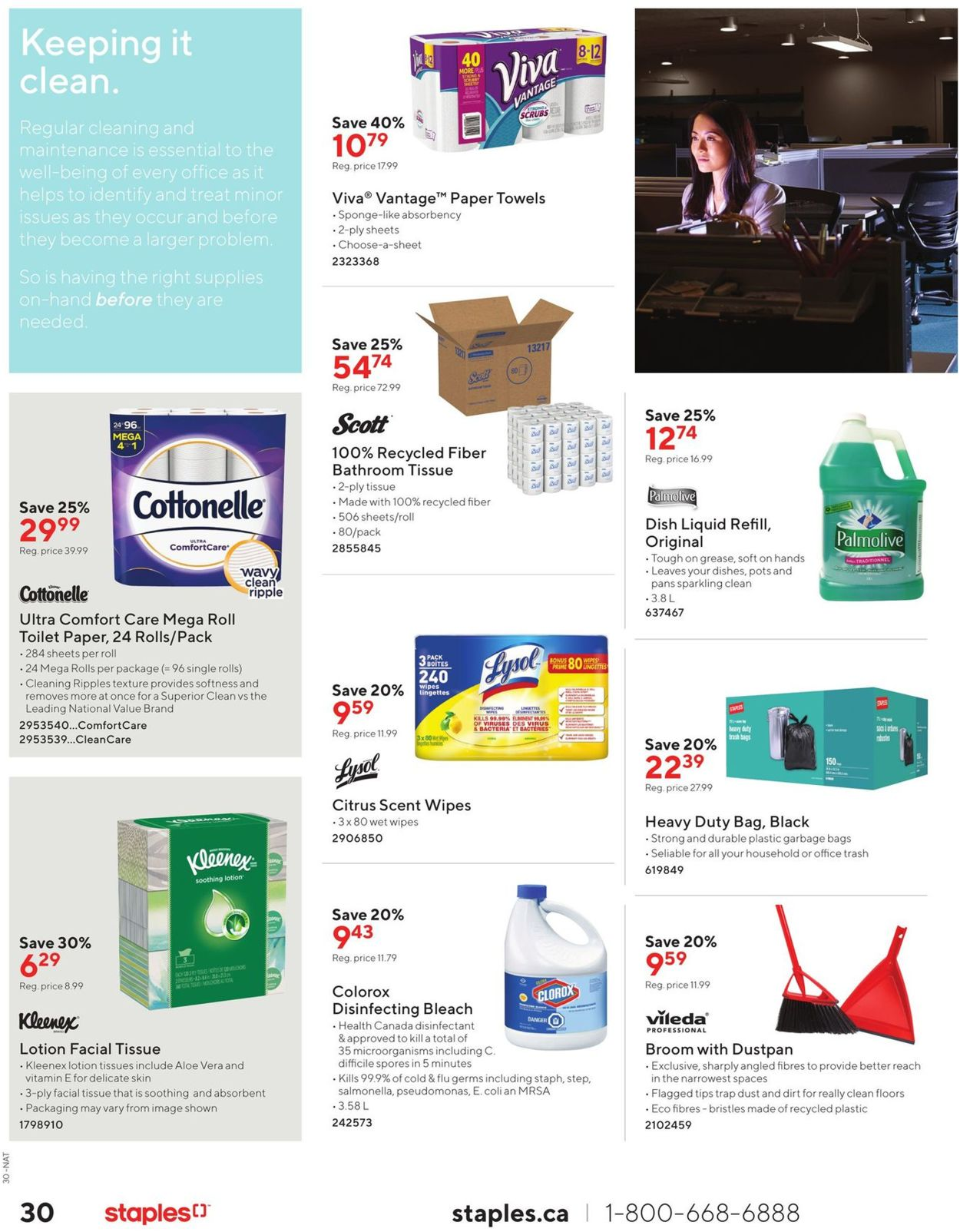 Staples Flyer - 10/09-10/22/2019 (Page 30)
