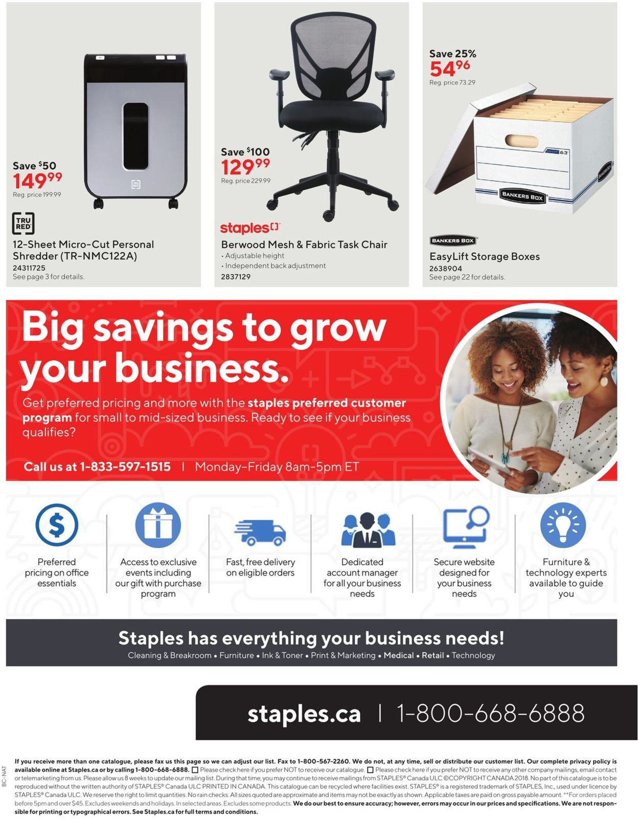 Staples Flyer - 10/09-10/22/2019 (Page 32)