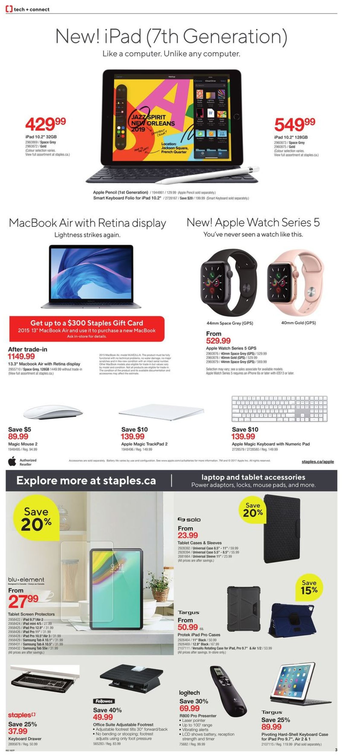 Staples Flyer - 10/16-10/22/2019 (Page 3)