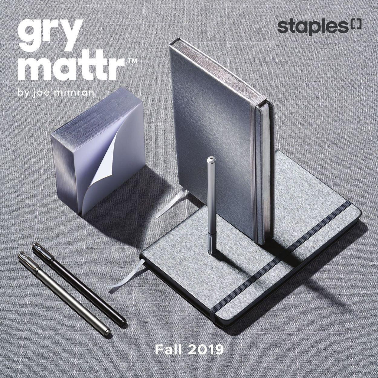 Staples Flyer - 10/15-11/12/2019