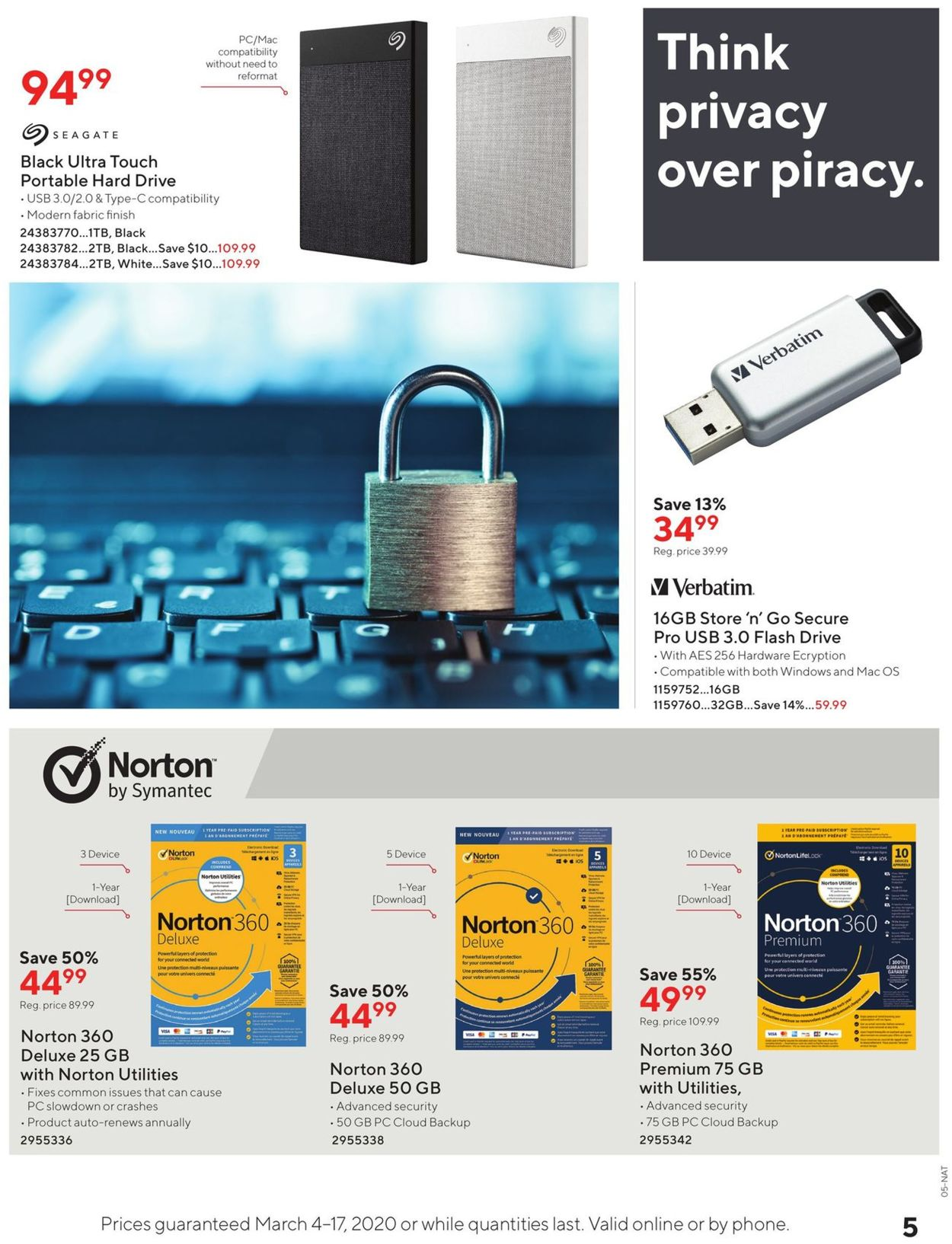 Staples Flyer - 03/04-03/17/2020 (Page 5)