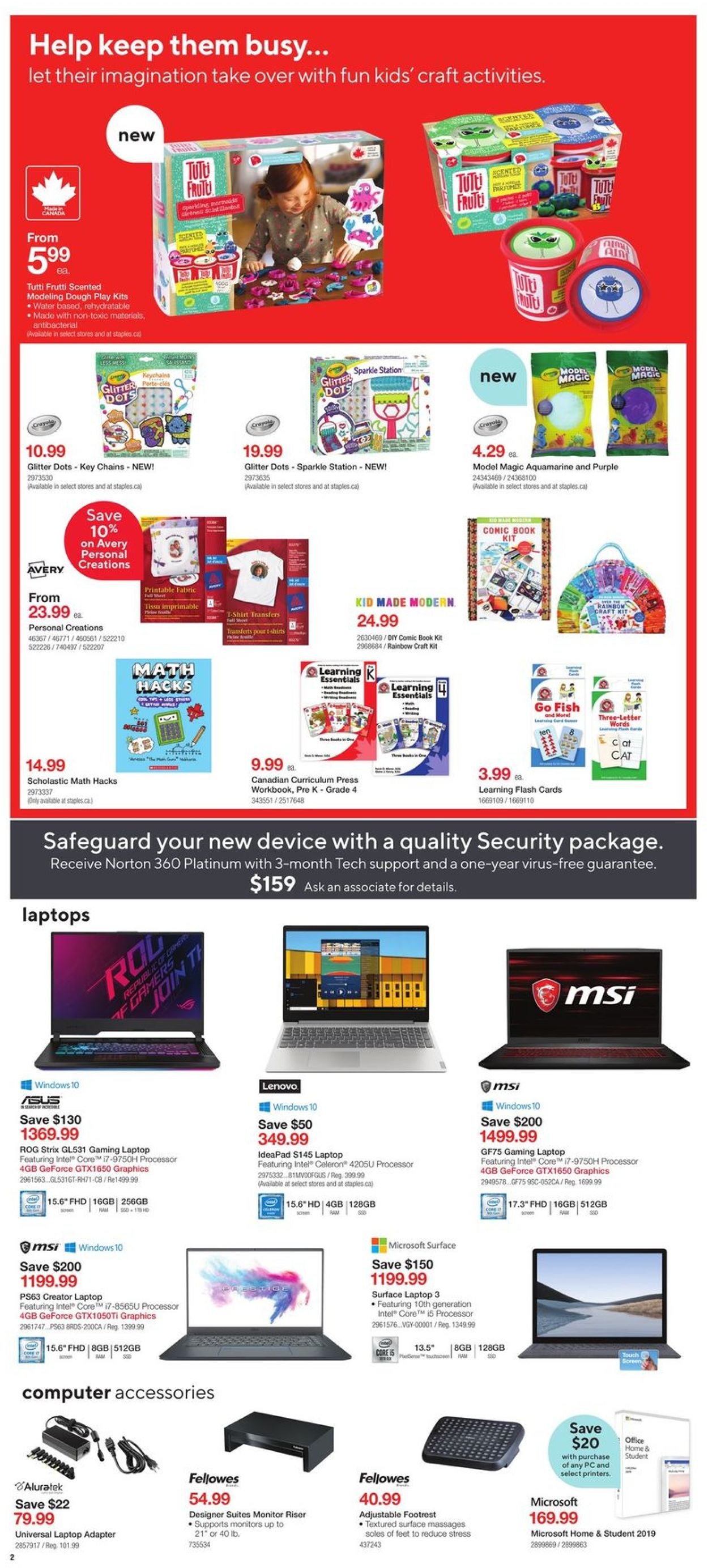 Staples Flyer - 04/15-04/21/2020 (Page 2)
