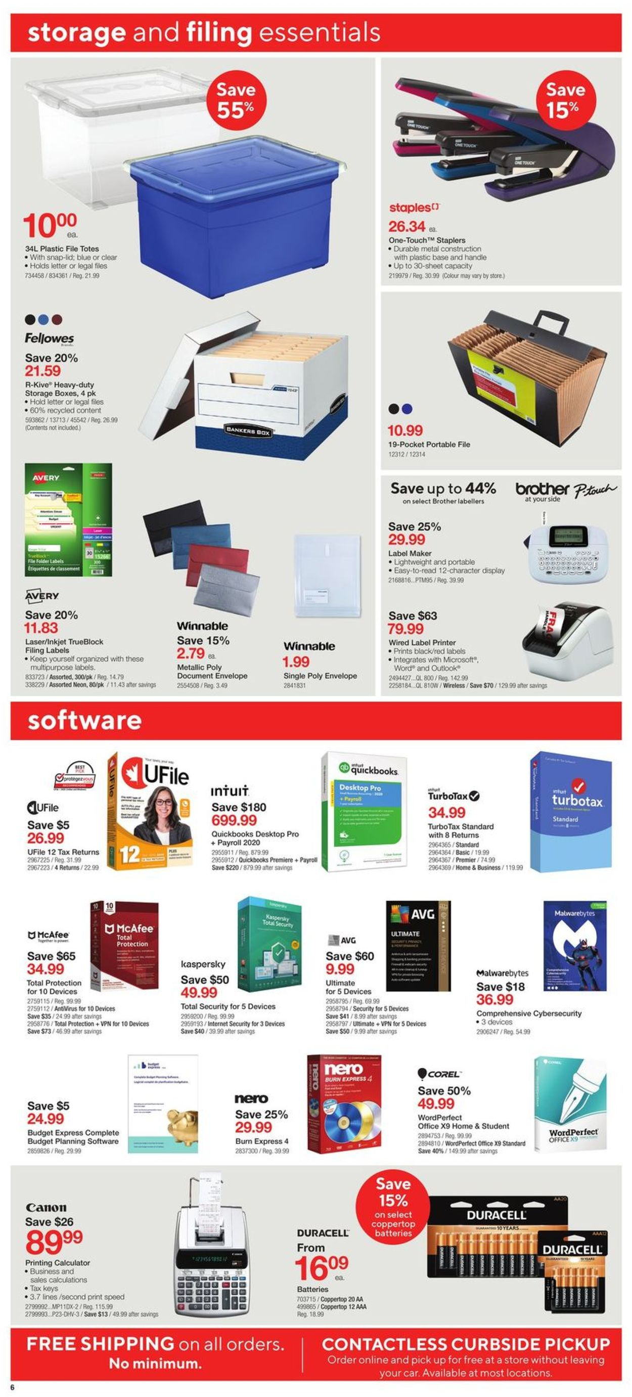 Staples Flyer - 04/15-04/21/2020 (Page 6)