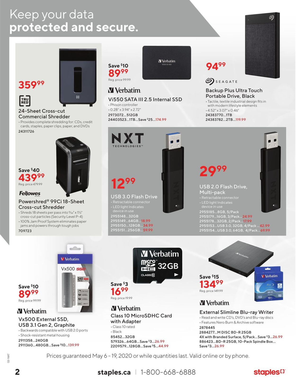 Staples Flyer - 05/06-05/19/2020 (Page 2)