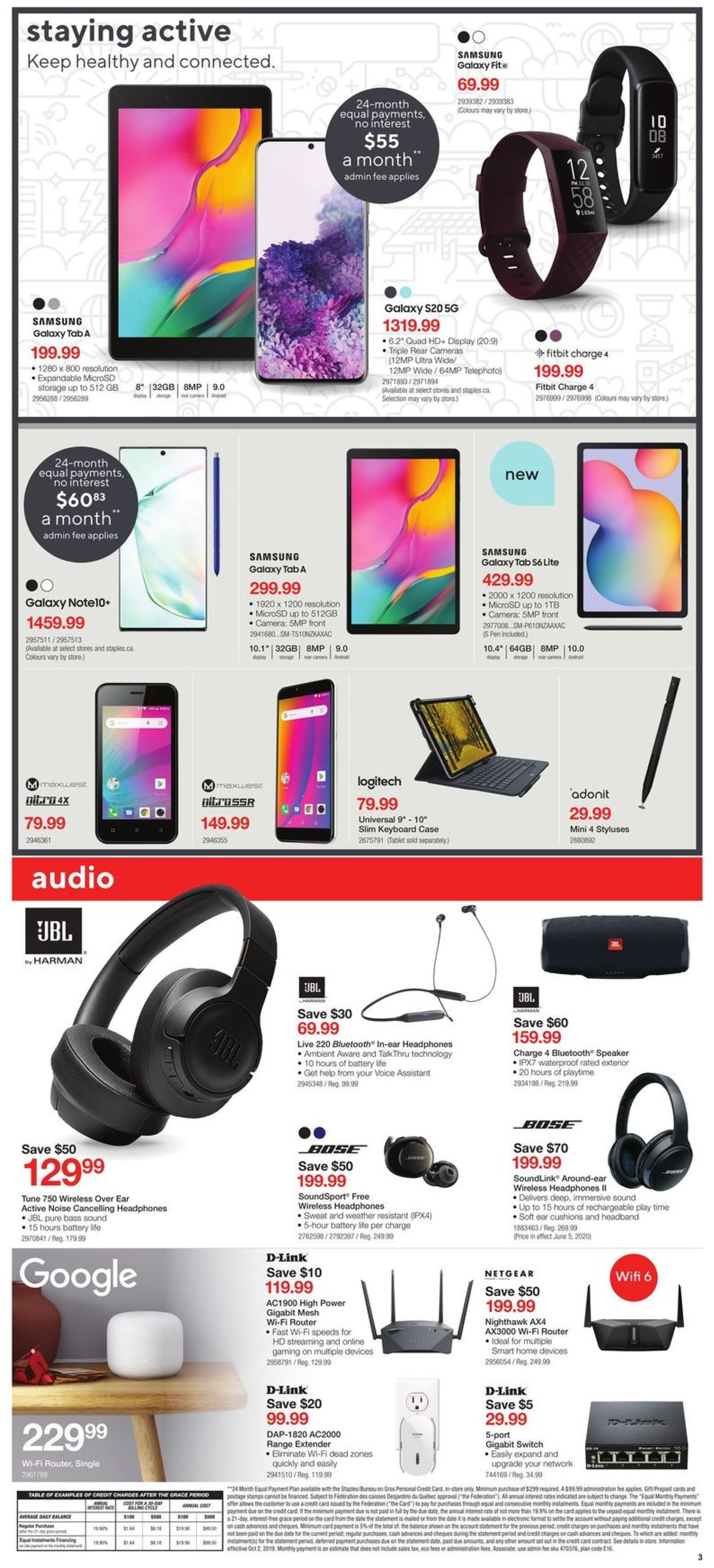 Staples Flyer - 06/03-06/09/2020 (Page 3)