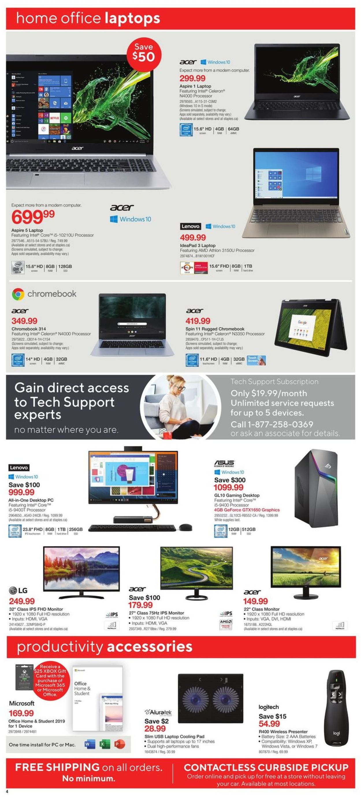 Staples Flyer - 06/03-06/09/2020 (Page 4)