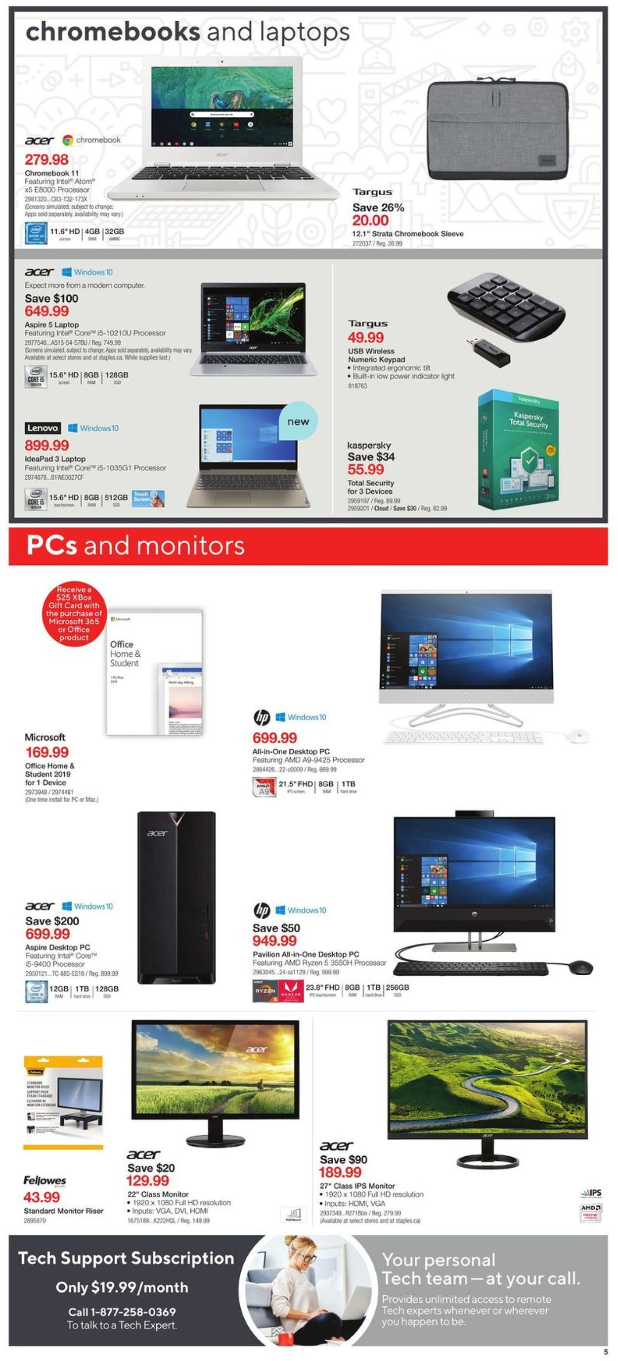 Staples Flyer - 06/24-06/30/2020 (Page 5)