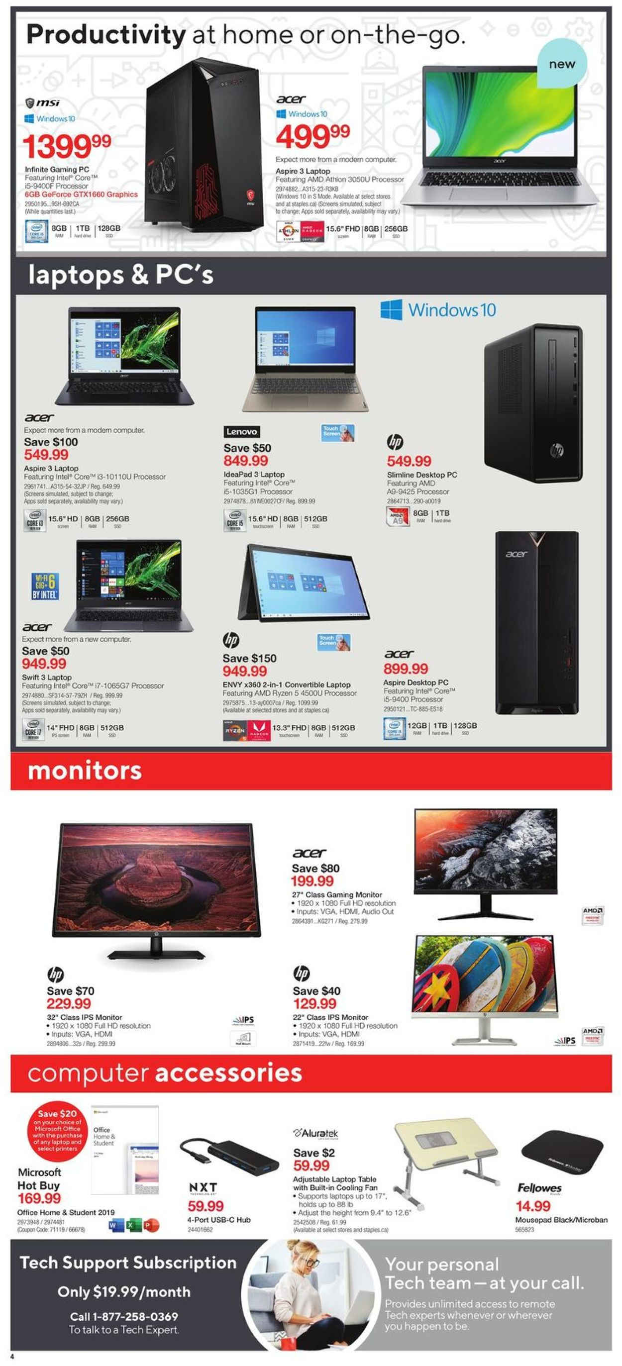 Staples Flyer - 07/08-07/14/2020 (Page 4)