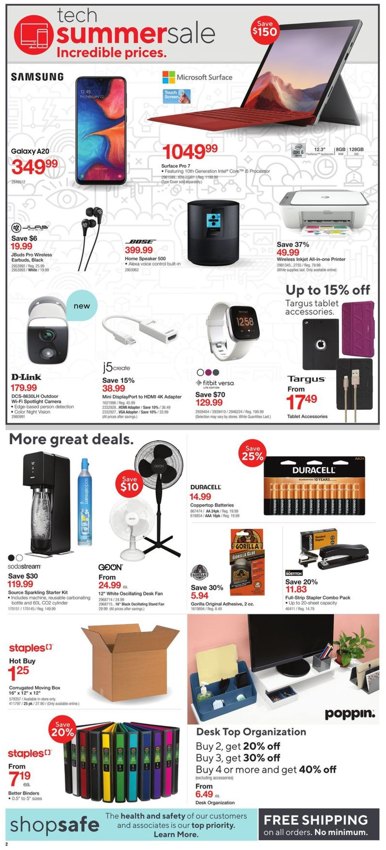 Staples Flyer - 07/15-07/21/2020 (Page 2)