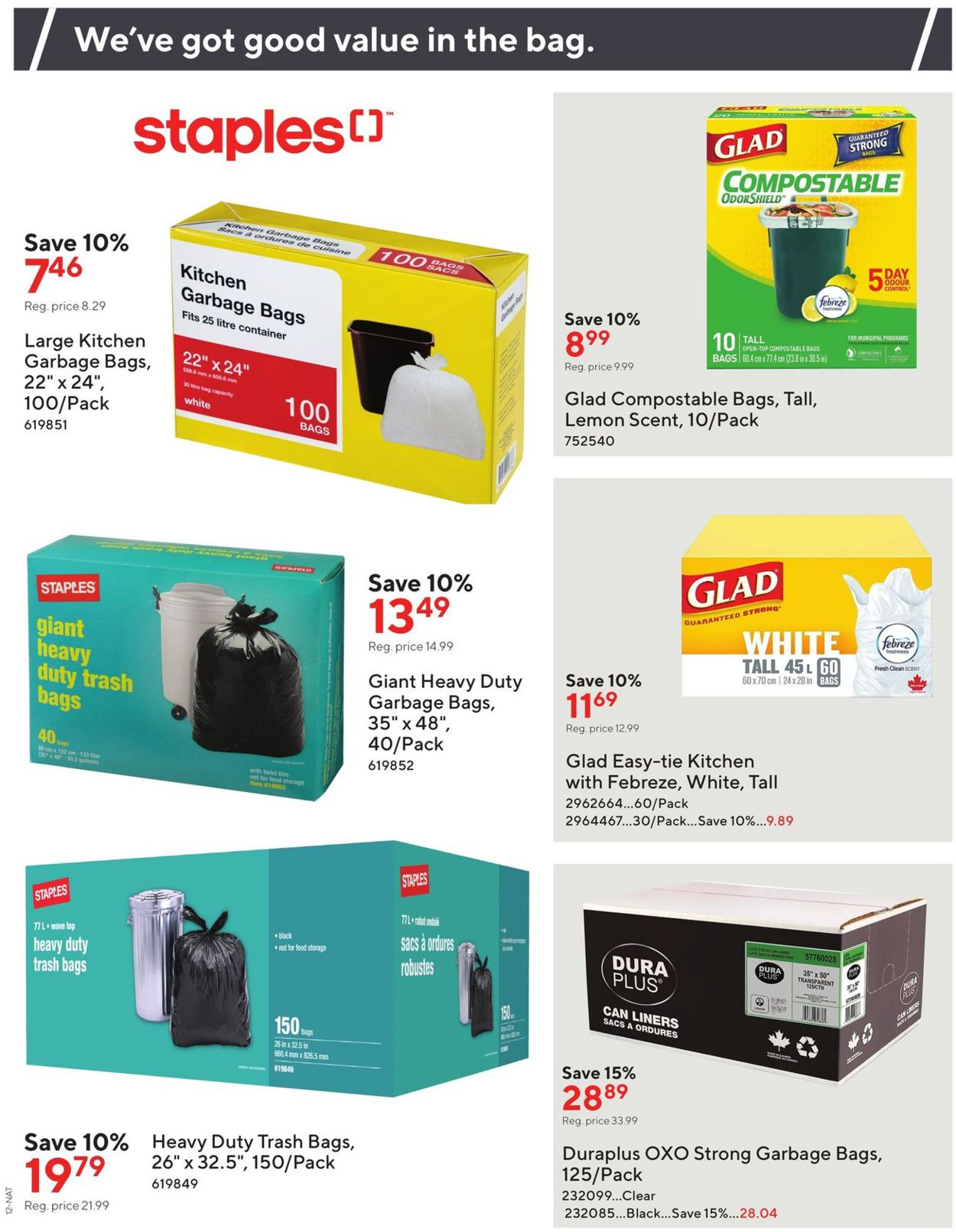 Staples Flyer - 07/22-08/04/2020 (Page 12)