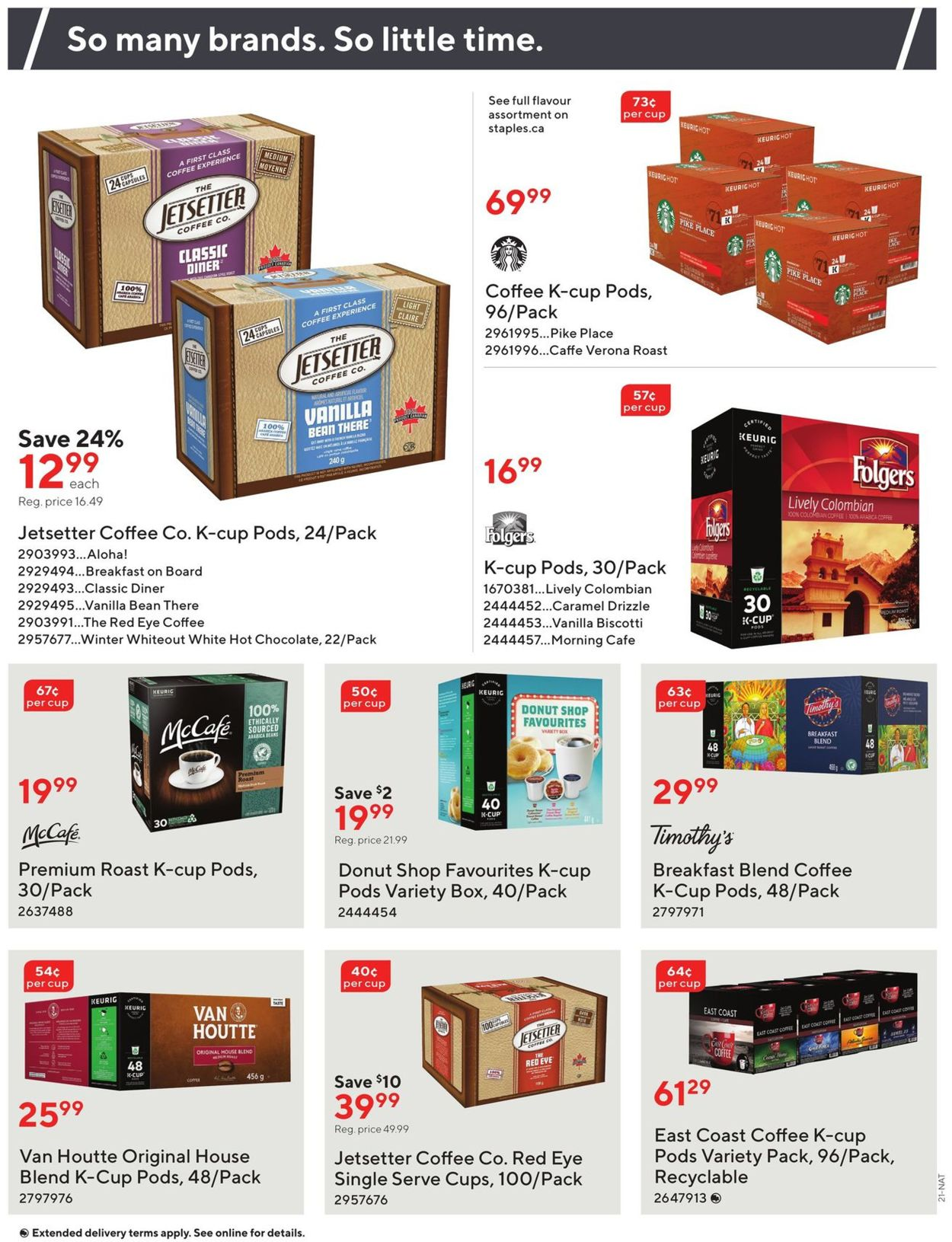 Staples Flyer - 07/22-08/04/2020 (Page 21)