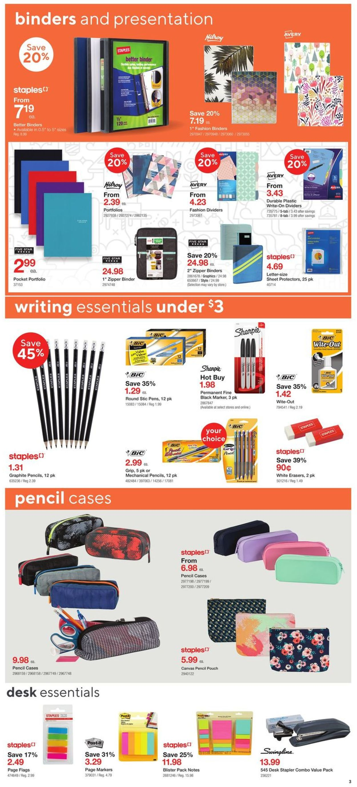 Staples Flyer - 07/29-08/04/2020 (Page 3)