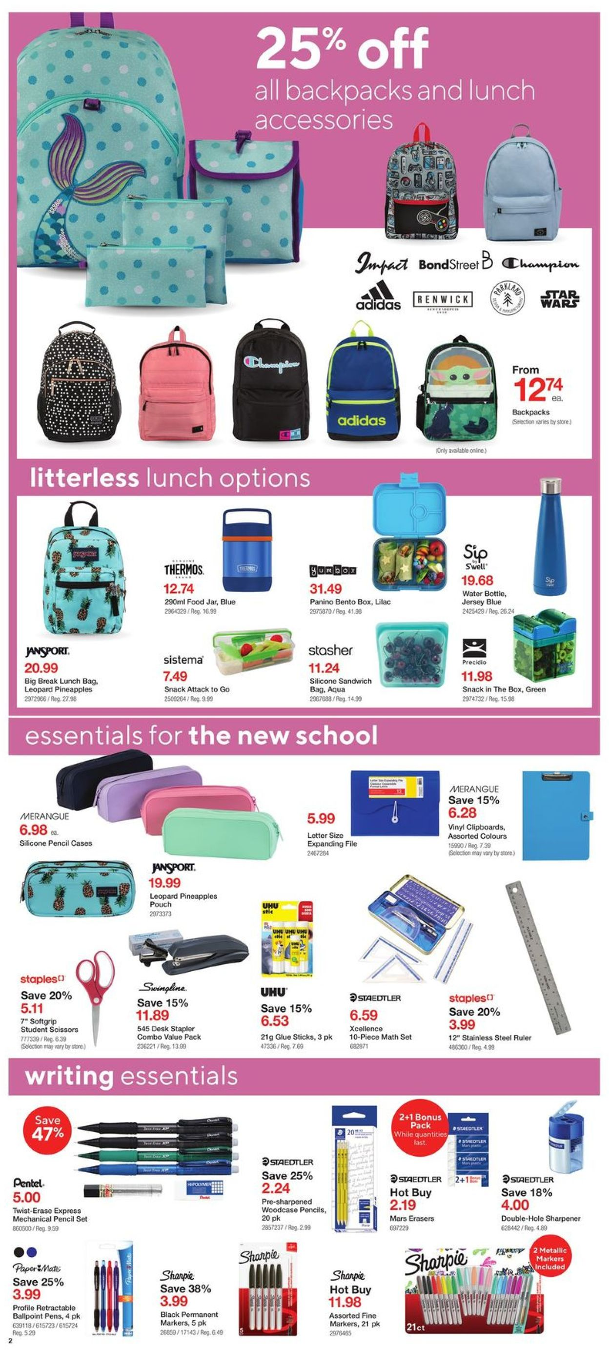 Staples Flyer - 08/05-08/11/2020 (Page 2)