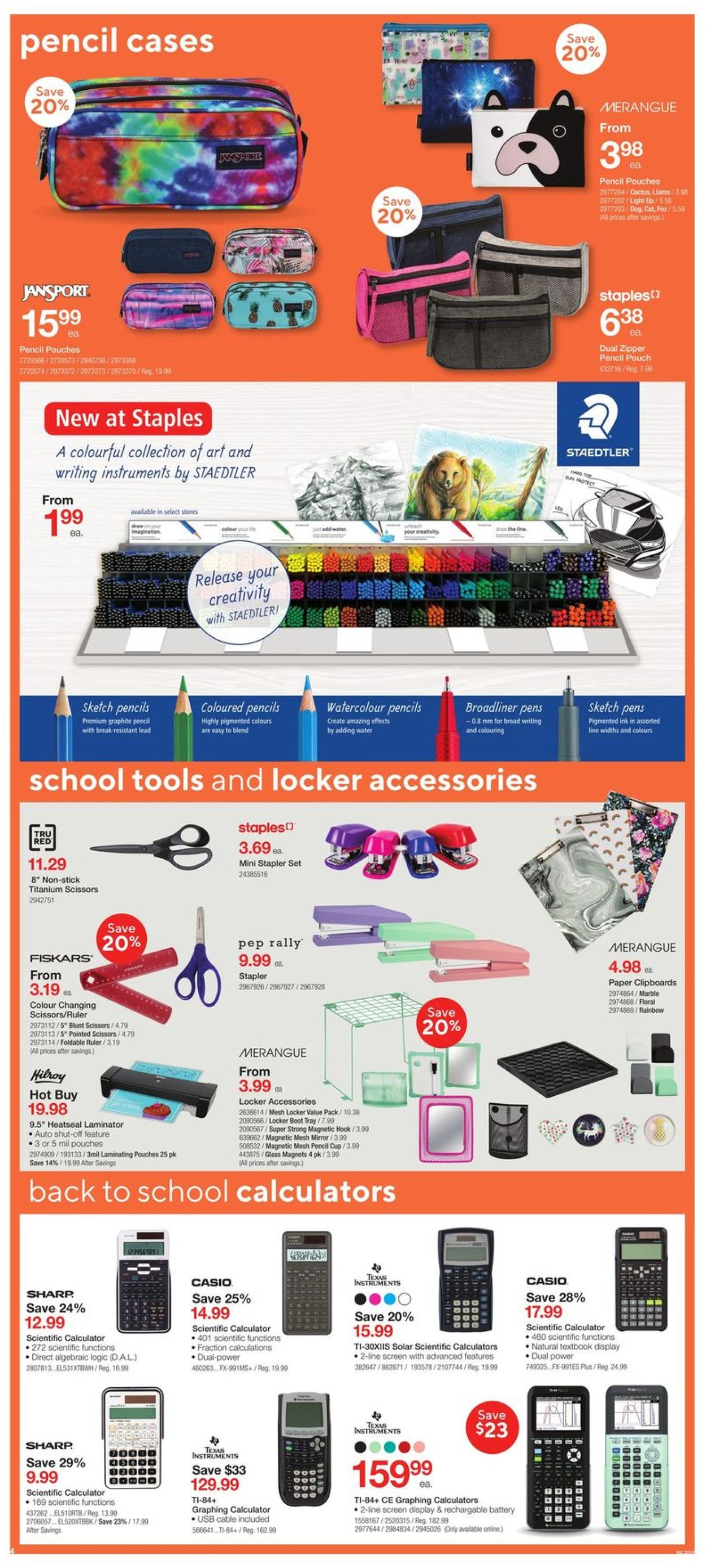 Staples Flyer - 09/02-09/08/2020 (Page 4)