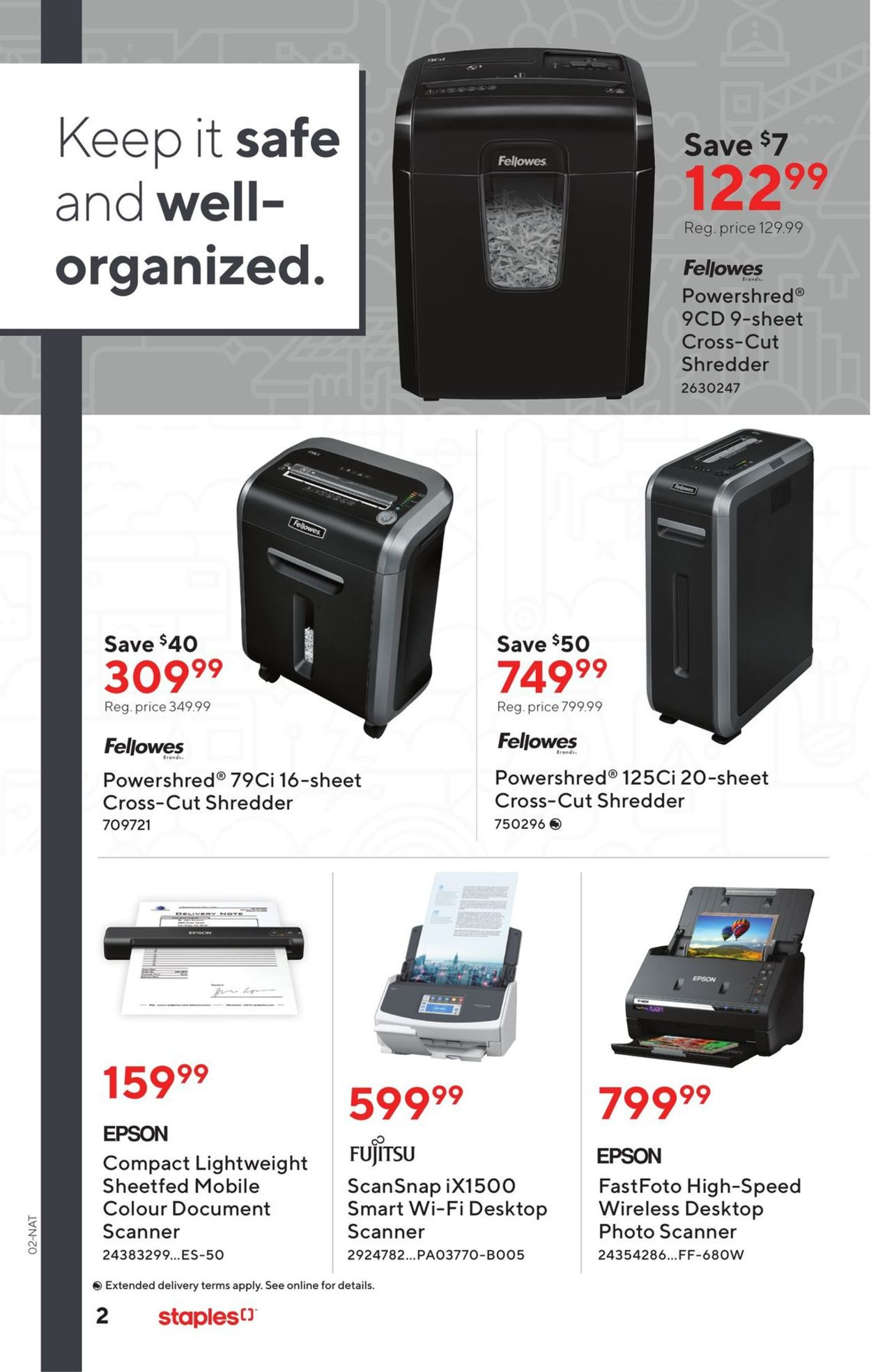Staples Flyer - 09/16-09/29/2020 (Page 2)