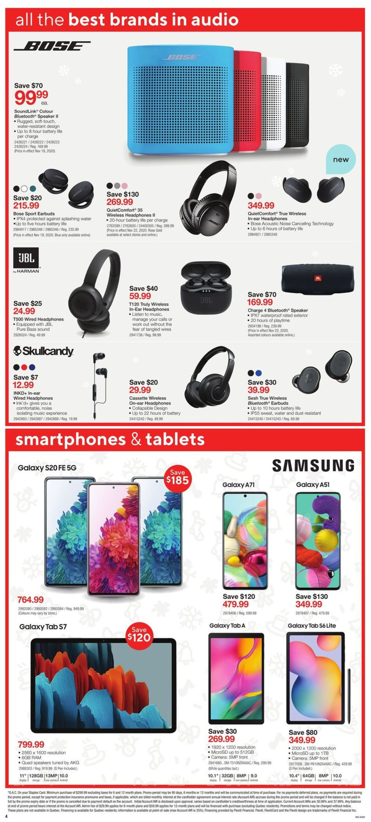 Staples - Black Friday 2020 Flyer - 11/18-11/26/2020 (Page 4)