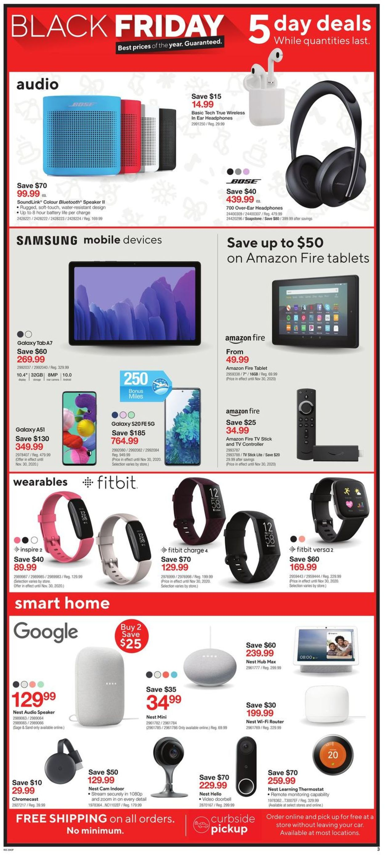 Staples - Black Friday 2020 Flyer - 11/27-12/01/2020 (Page 3)