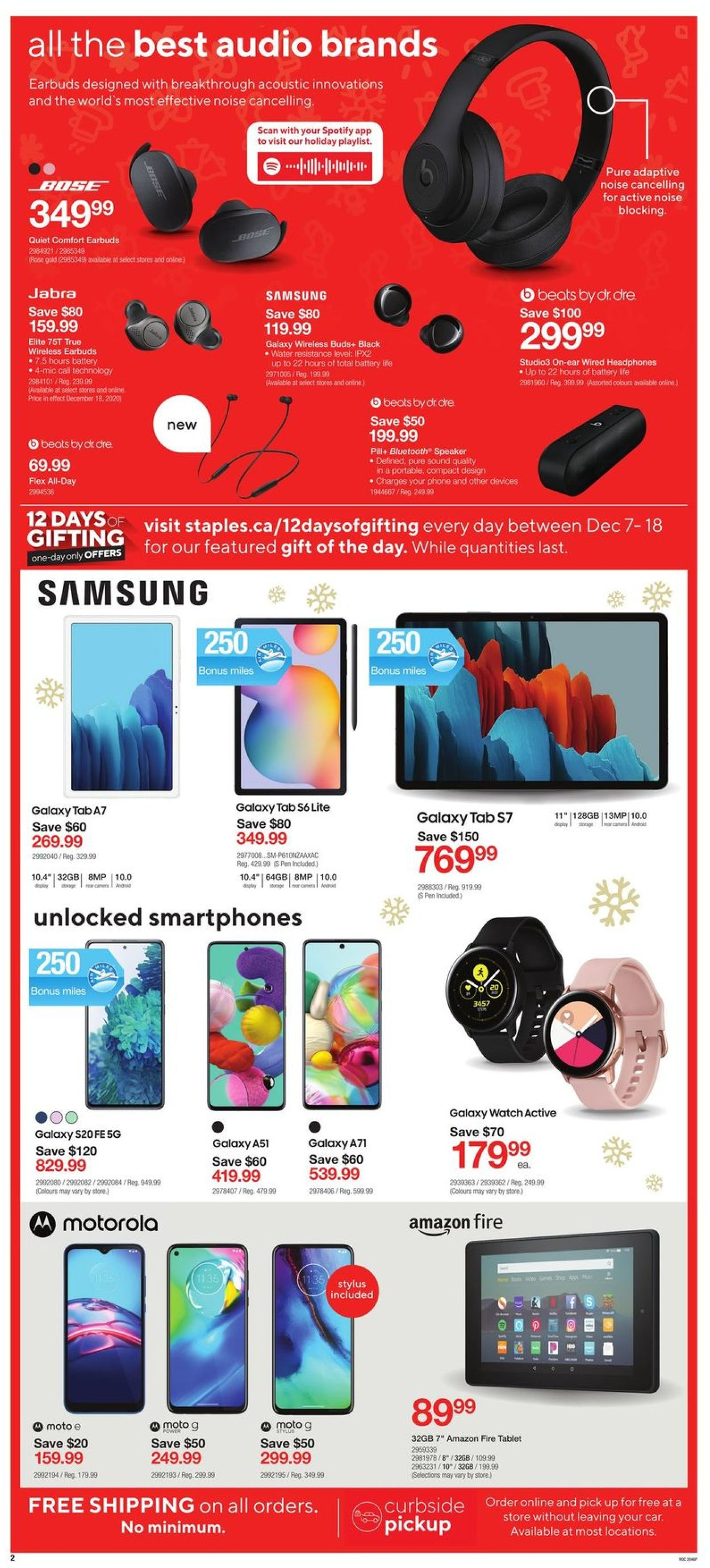 Staples - Holiday 2020 Flyer - 12/16-12/24/2020 (Page 2)