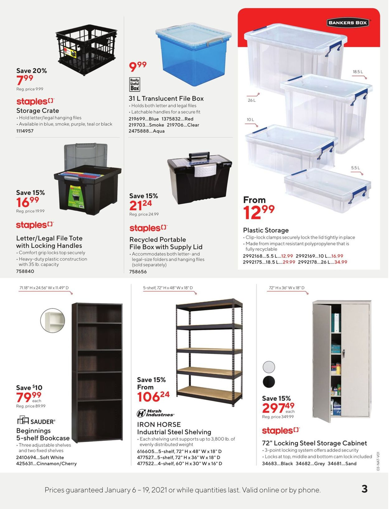 Staples Flyer - 01/06-01/19/2021 (Page 3)