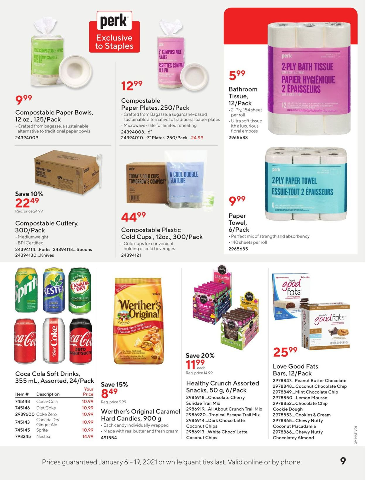 Staples Flyer - 01/06-01/19/2021 (Page 9)