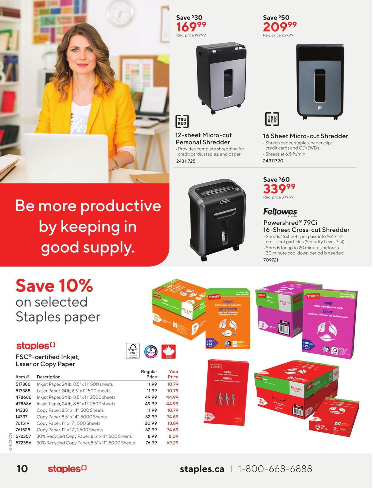 Staples Flyer - 01/06-01/19/2021 (Page 10)