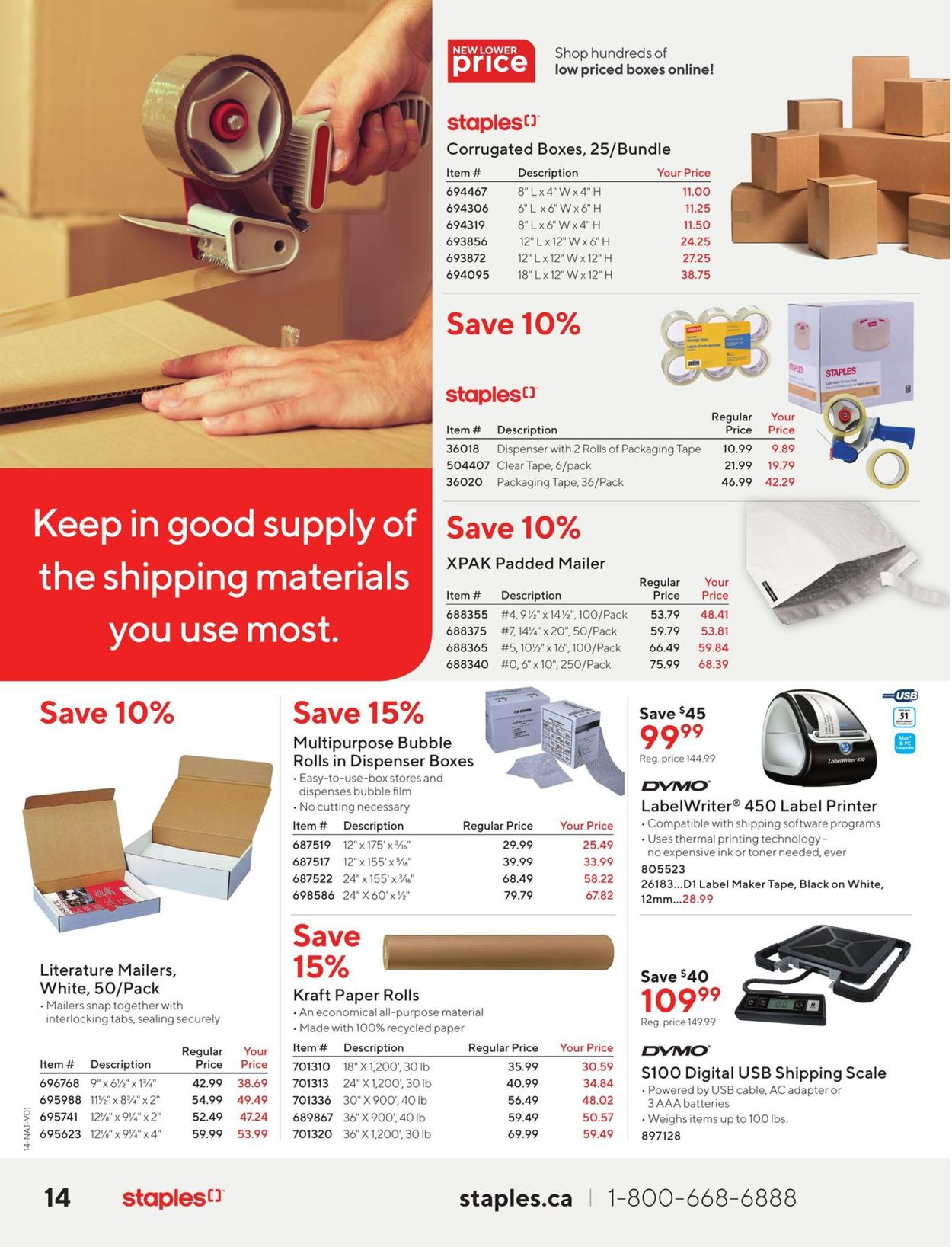 Staples Flyer - 01/06-01/19/2021 (Page 14)