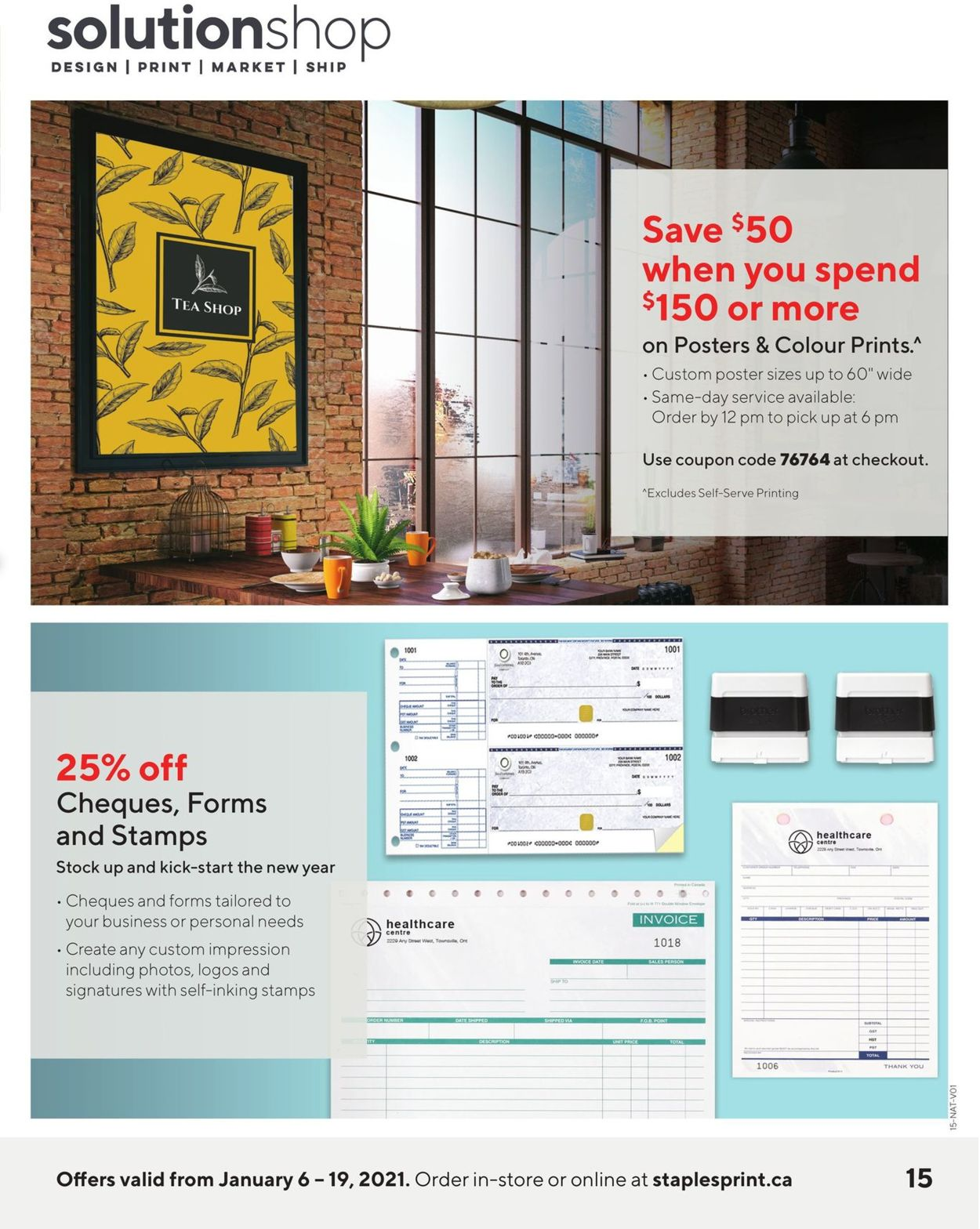 Staples Flyer - 01/06-01/19/2021 (Page 15)