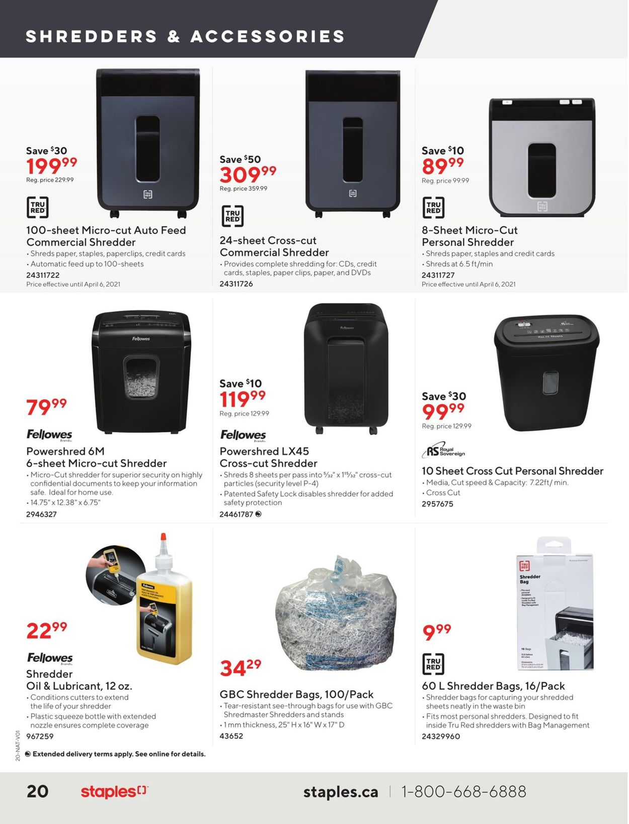 Staples Flyer - 03/31-04/13/2021 (Page 20)