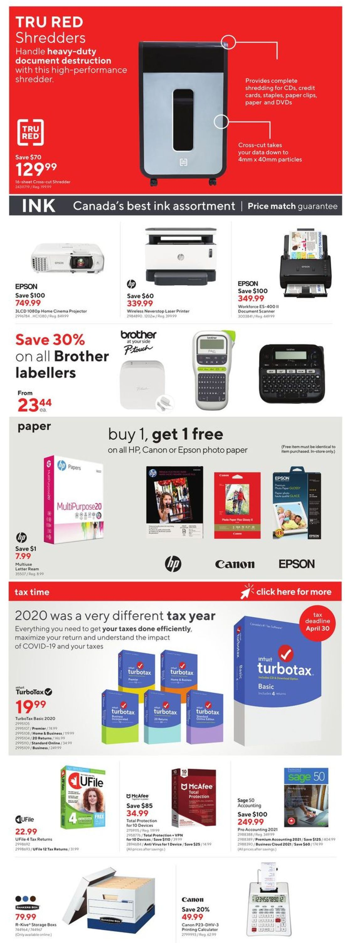 Staples Flyer - 04/07-04/13/2021 (Page 10)